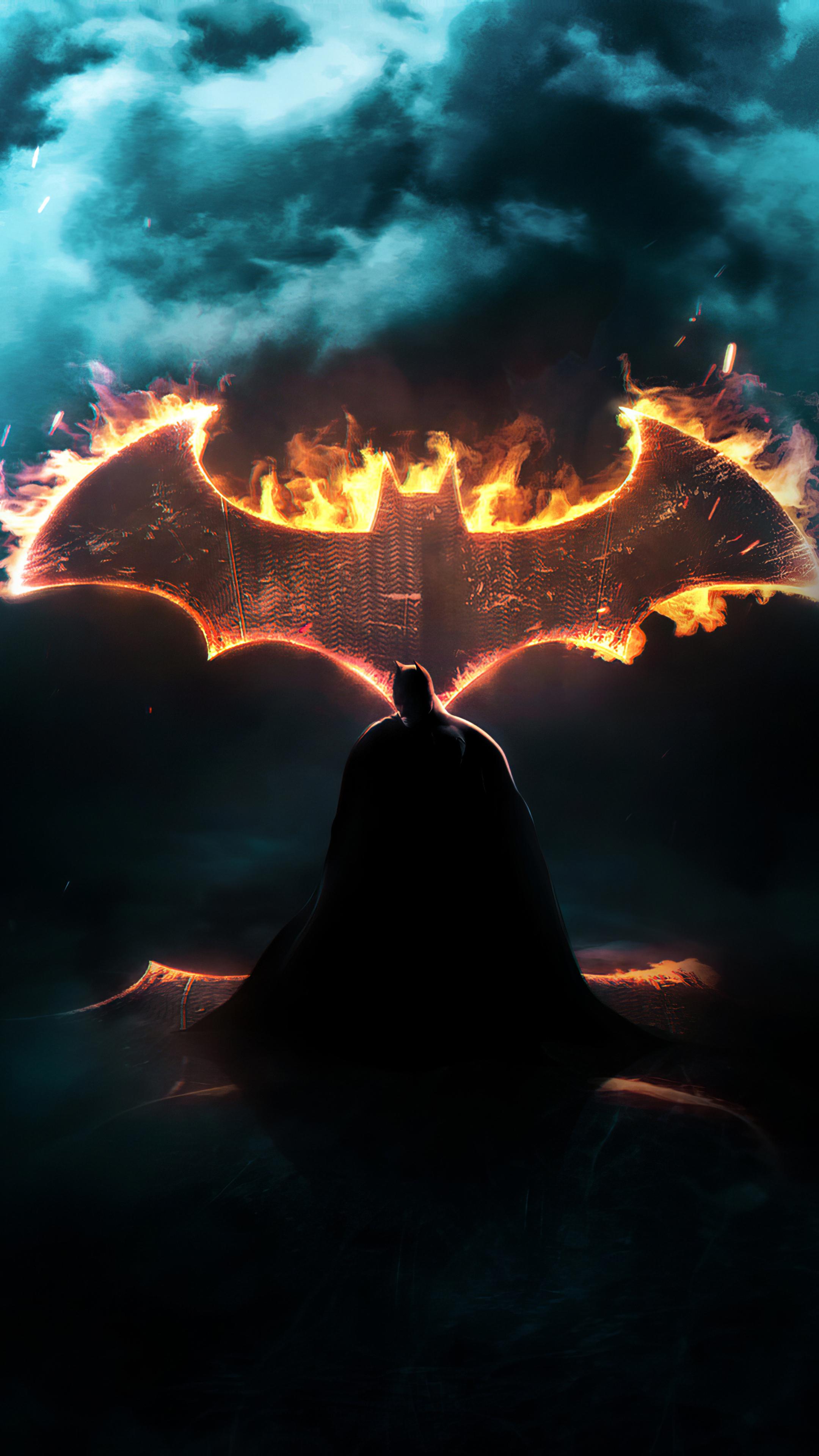 2160x3840 Batman Dark Knight Logo Sony Xperia X,XZ,Z5 ...