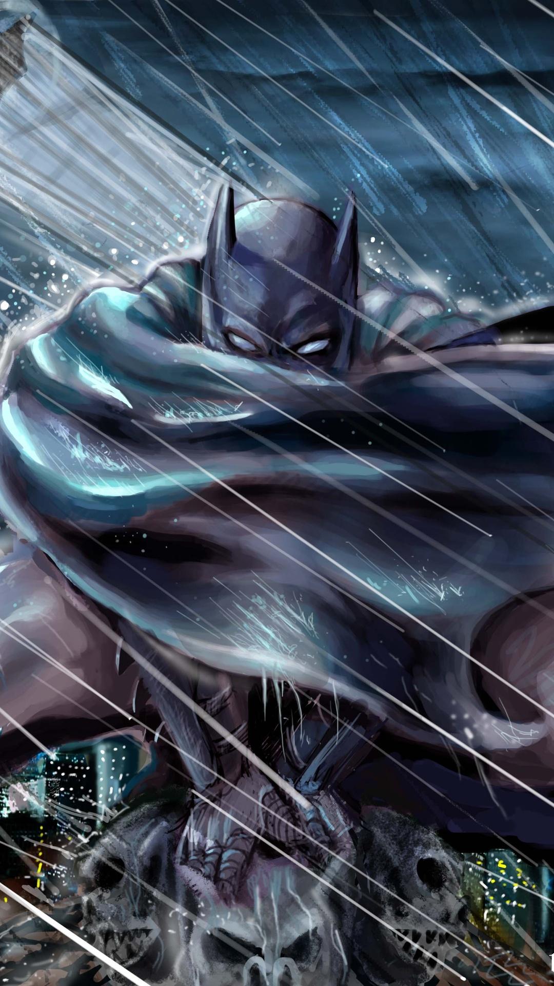 1080x1920 Batman Gotham Roof Top Protecter Iphone 7 6s 6