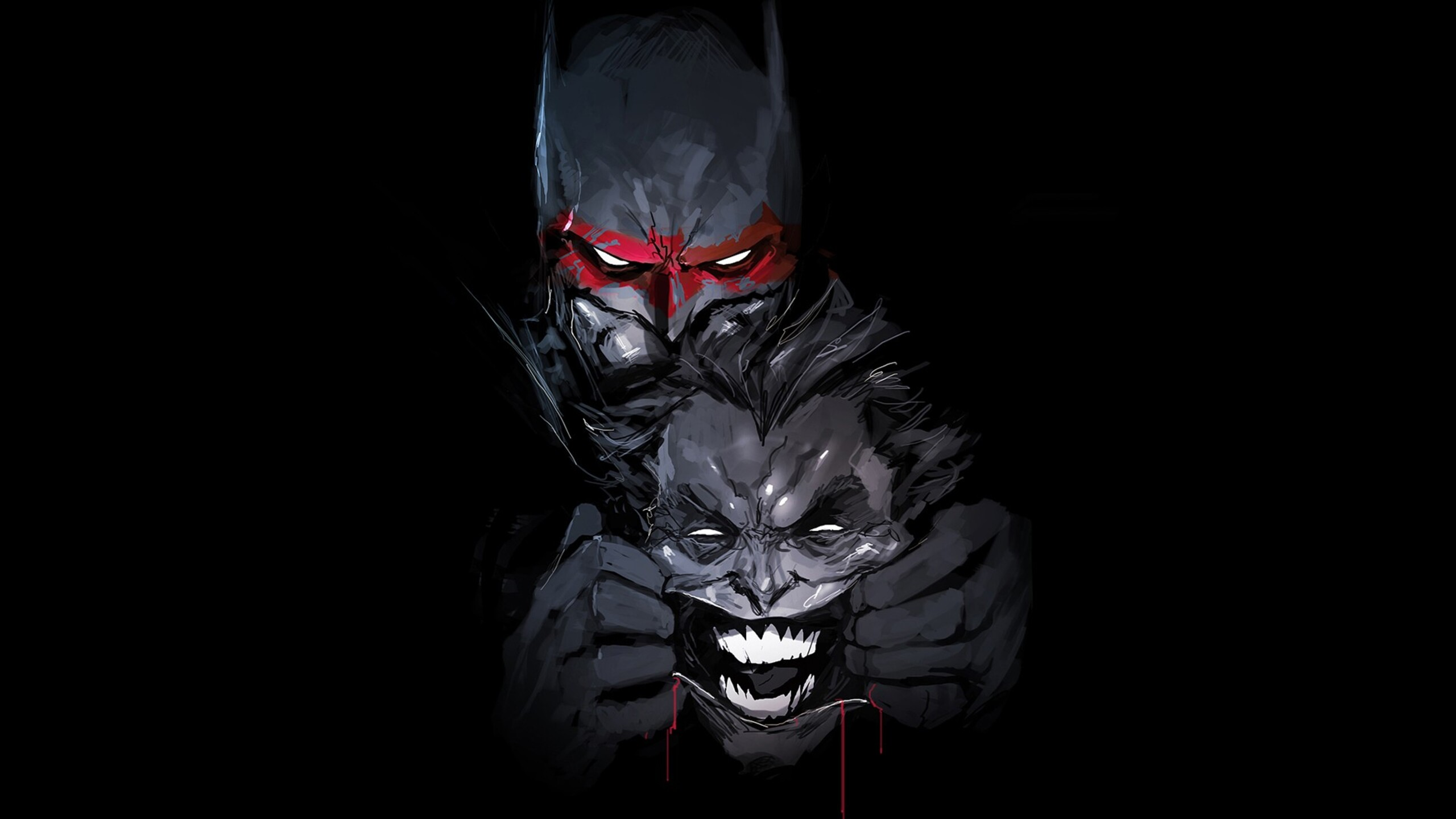 Fantastic Wallpaper Halloween Batman - batman-joker-artwork-new-2560x1440  You Should Have_494576.jpg
