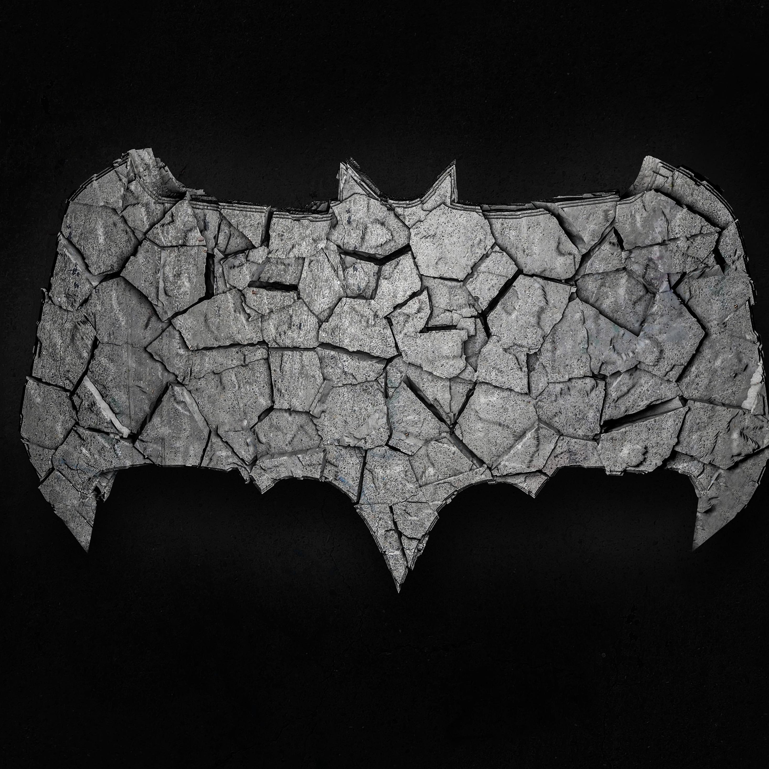 2932x2932 Batman Logo 3d Art 4k Ipad Pro Retina Display Hd