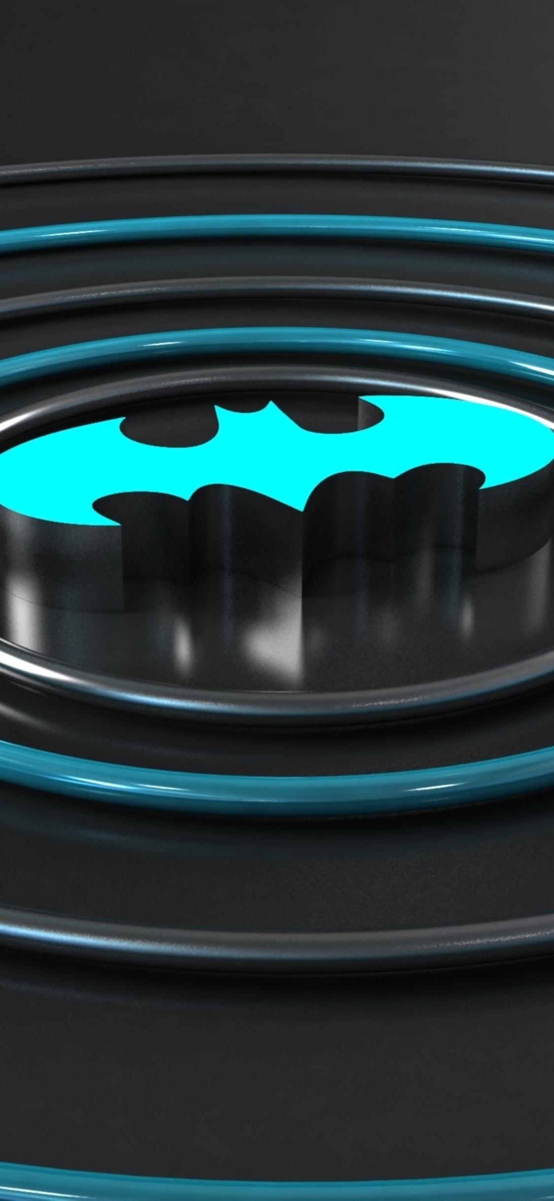 1125x2436 Batman Logo 3d Iphone XS Iphone 10 Iphone X HD 4k