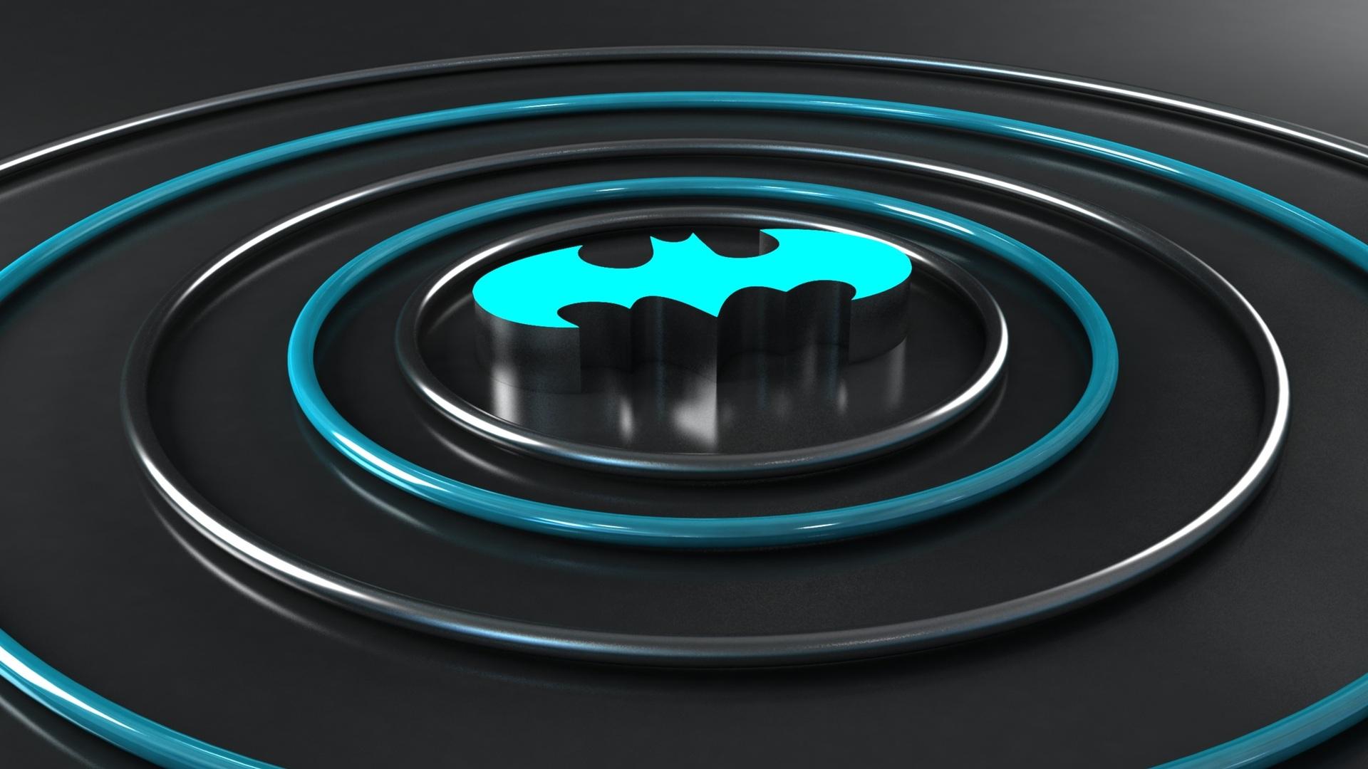 1920x1080 Batman Logo 3d Laptop Full Hd 1080p Hd 4k