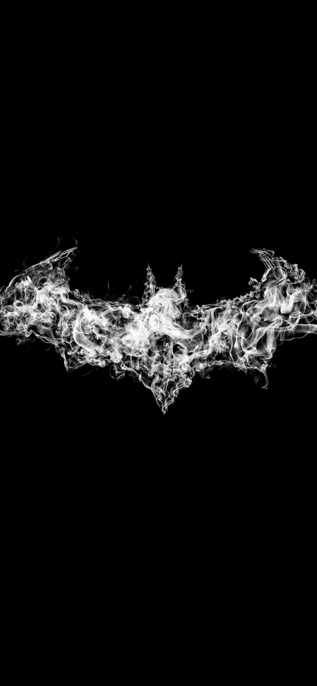 1242x2688 Batman Logo Smoke Art Iphone Xs Max Hd 4k