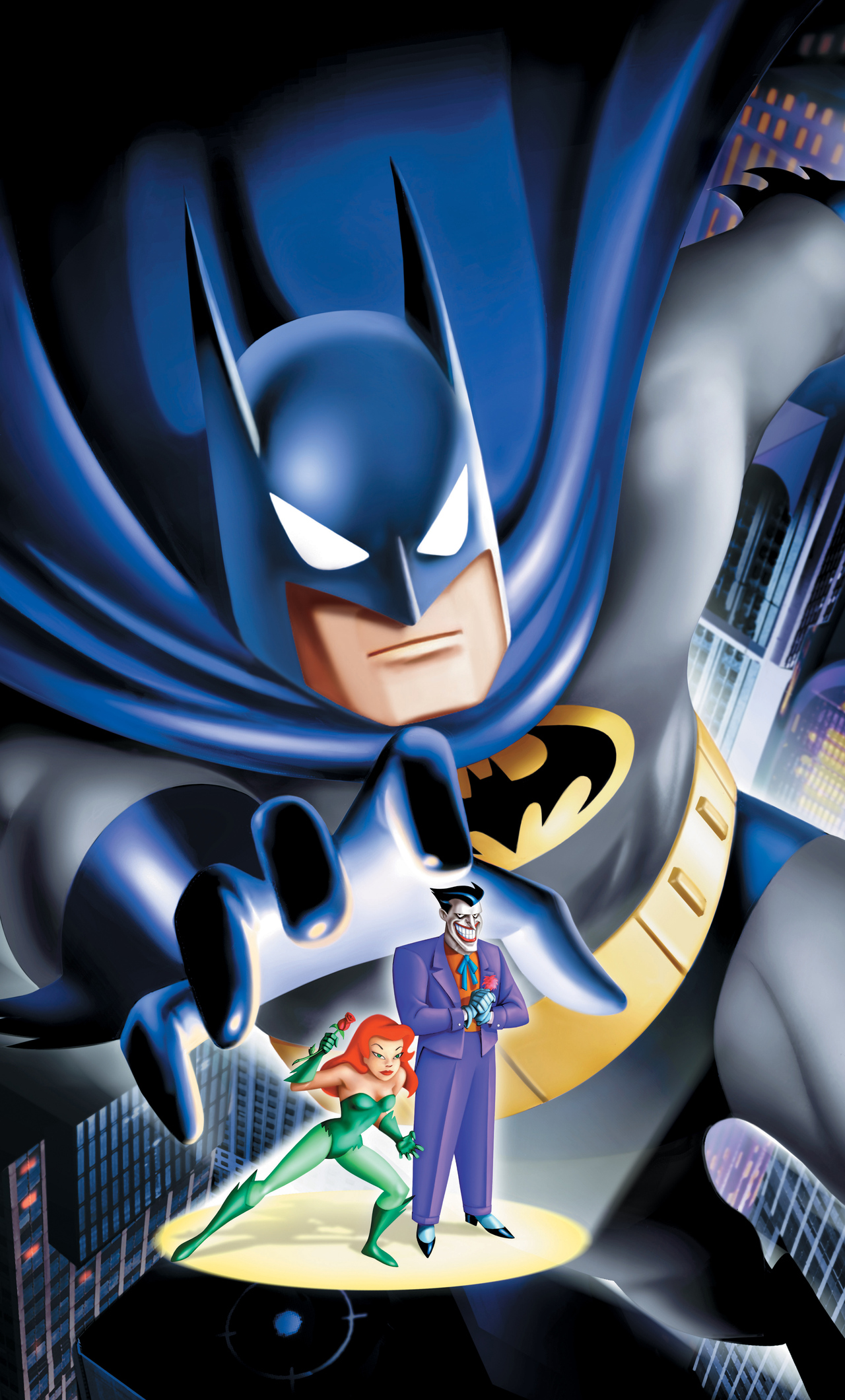 1280x2120 Batman The Animated Series 4k Iphone 6 Hd 4k