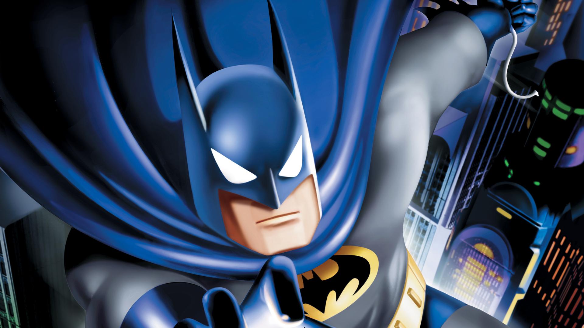 1920x1080 Batman The Animated Series 4k Laptop Full HD ...