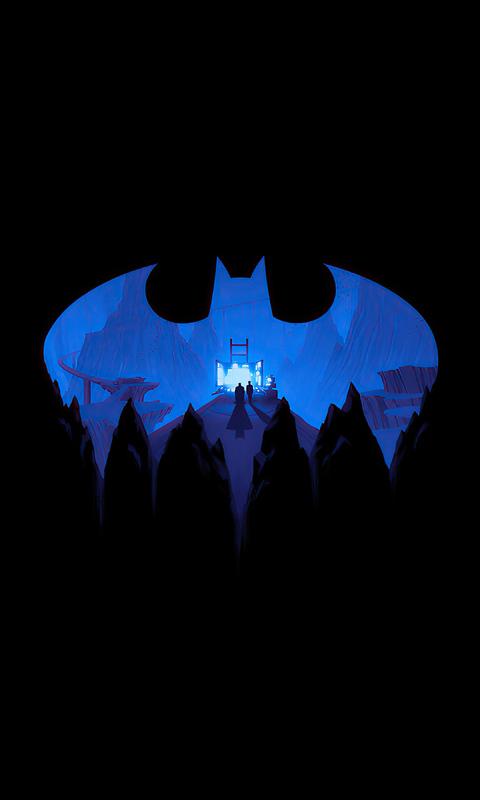 480x800 Batman The Animated Series Box 4k Galaxy Note,HTC ...