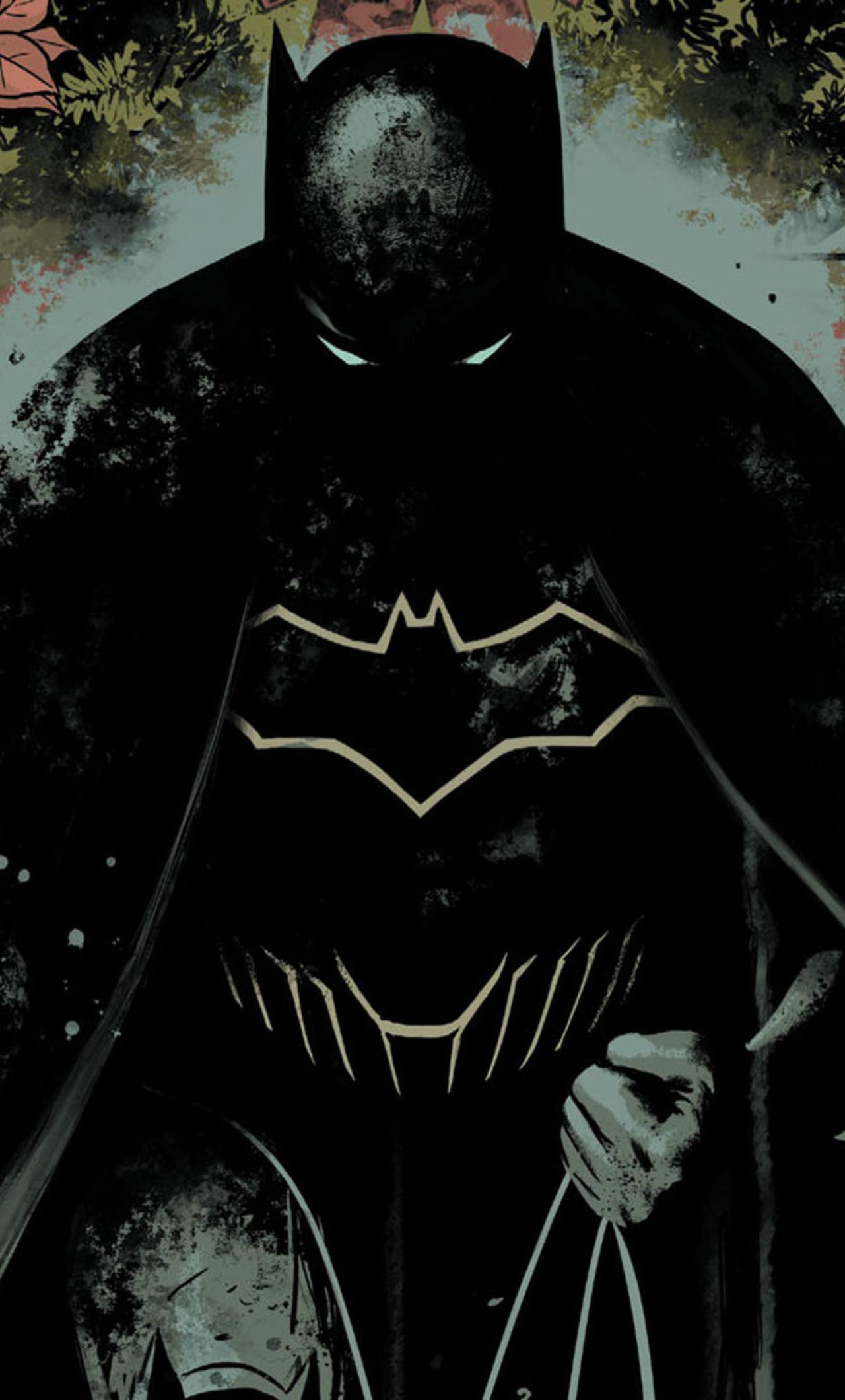 Batman The Dark Knight Dc Comic Artwork Fr