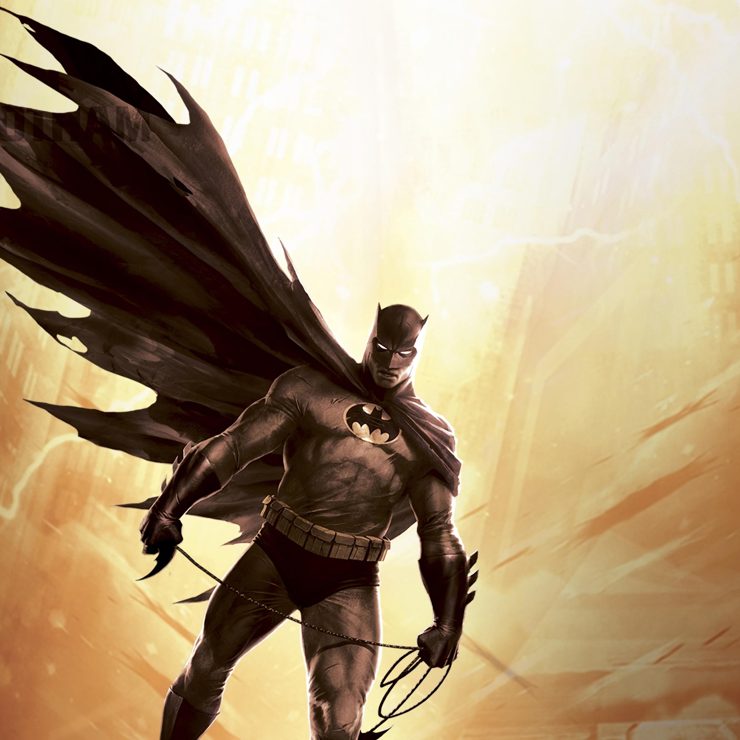 2932x2932 Batman The Dark Knight Returns 4k Ipad Pro Retina