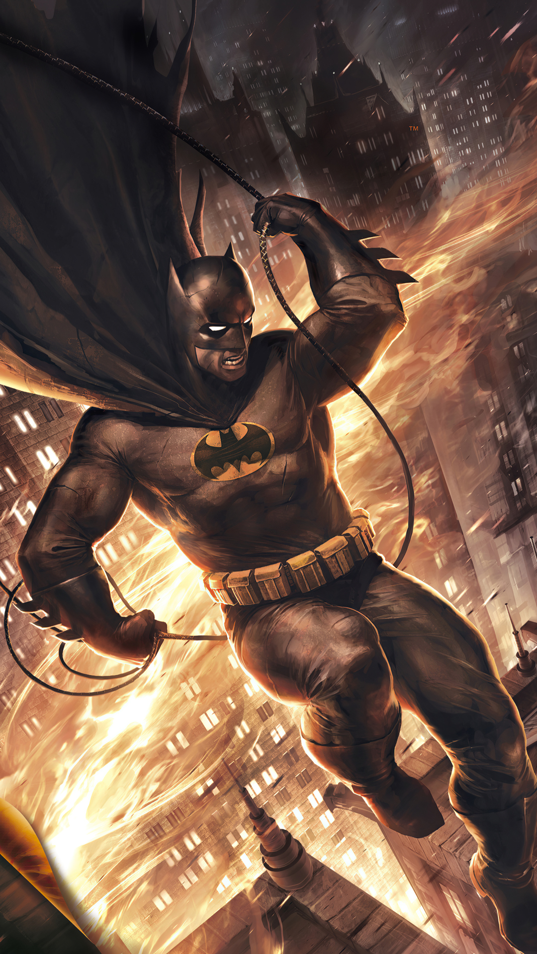 Dark Knight Returns In City 4k Iphone ...