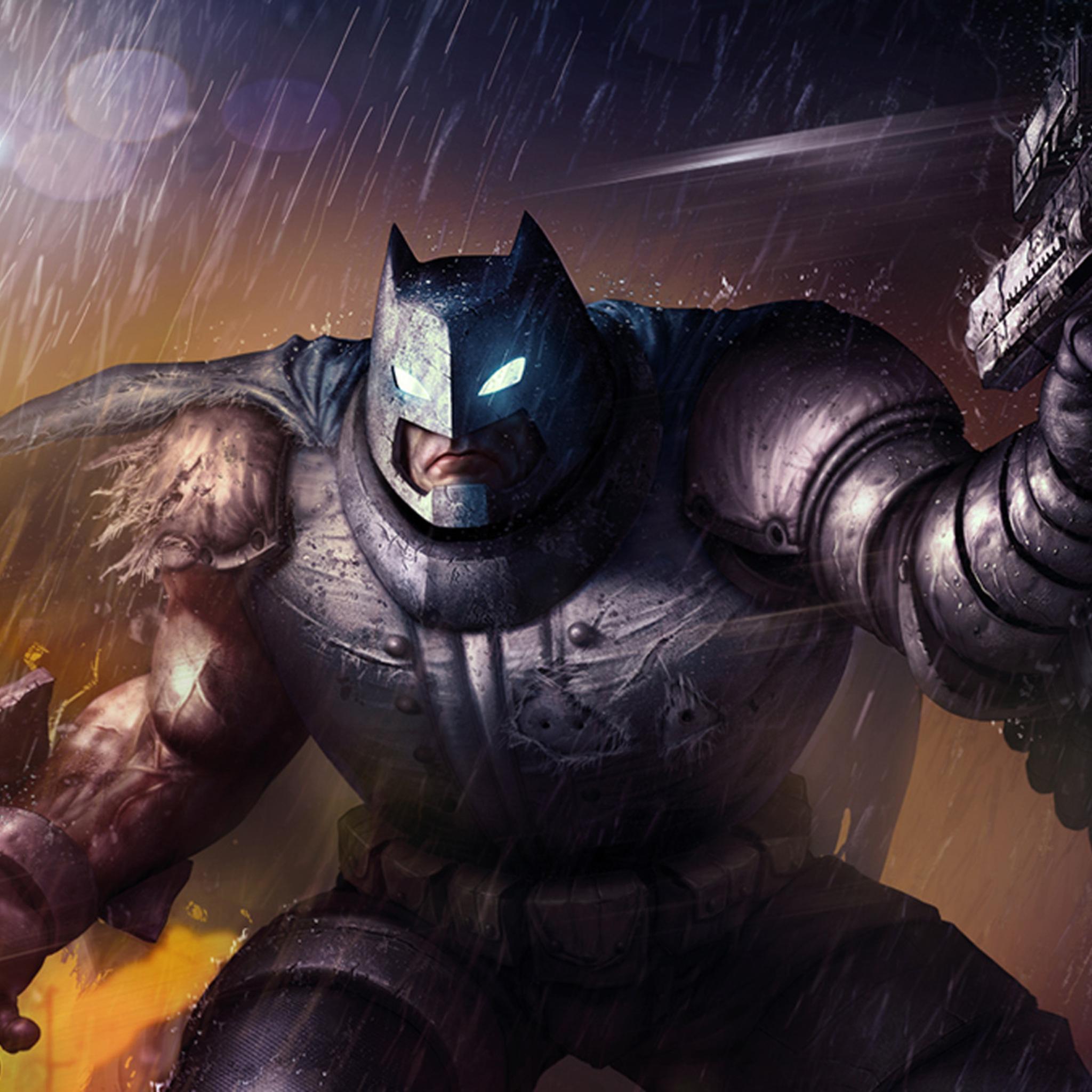 2048x2048 Batman The Dark Knight Returns Ipad Air Hd 4k Wallpapers