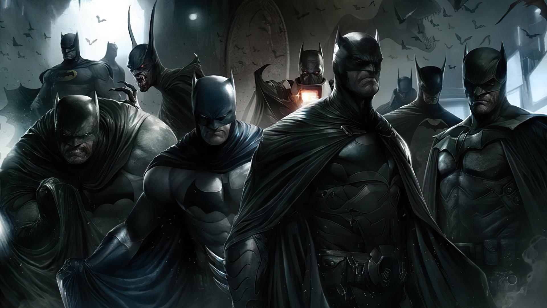 1920x1080 Batman Versions Laptop Full HD 1080P HD 4k ...