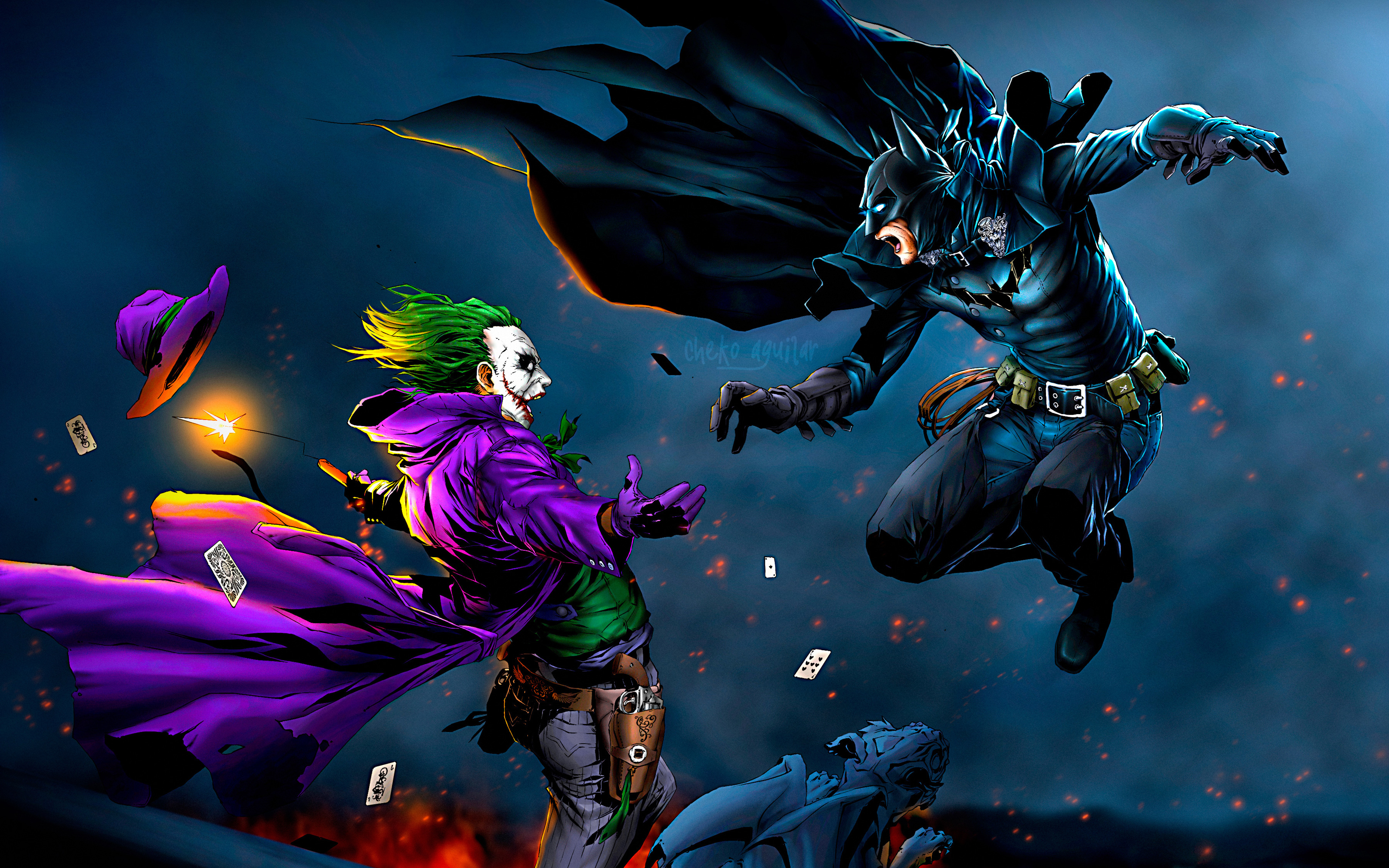 3840x2400 Batman Vs Joker 4k Hd 4k Wallpapers Images