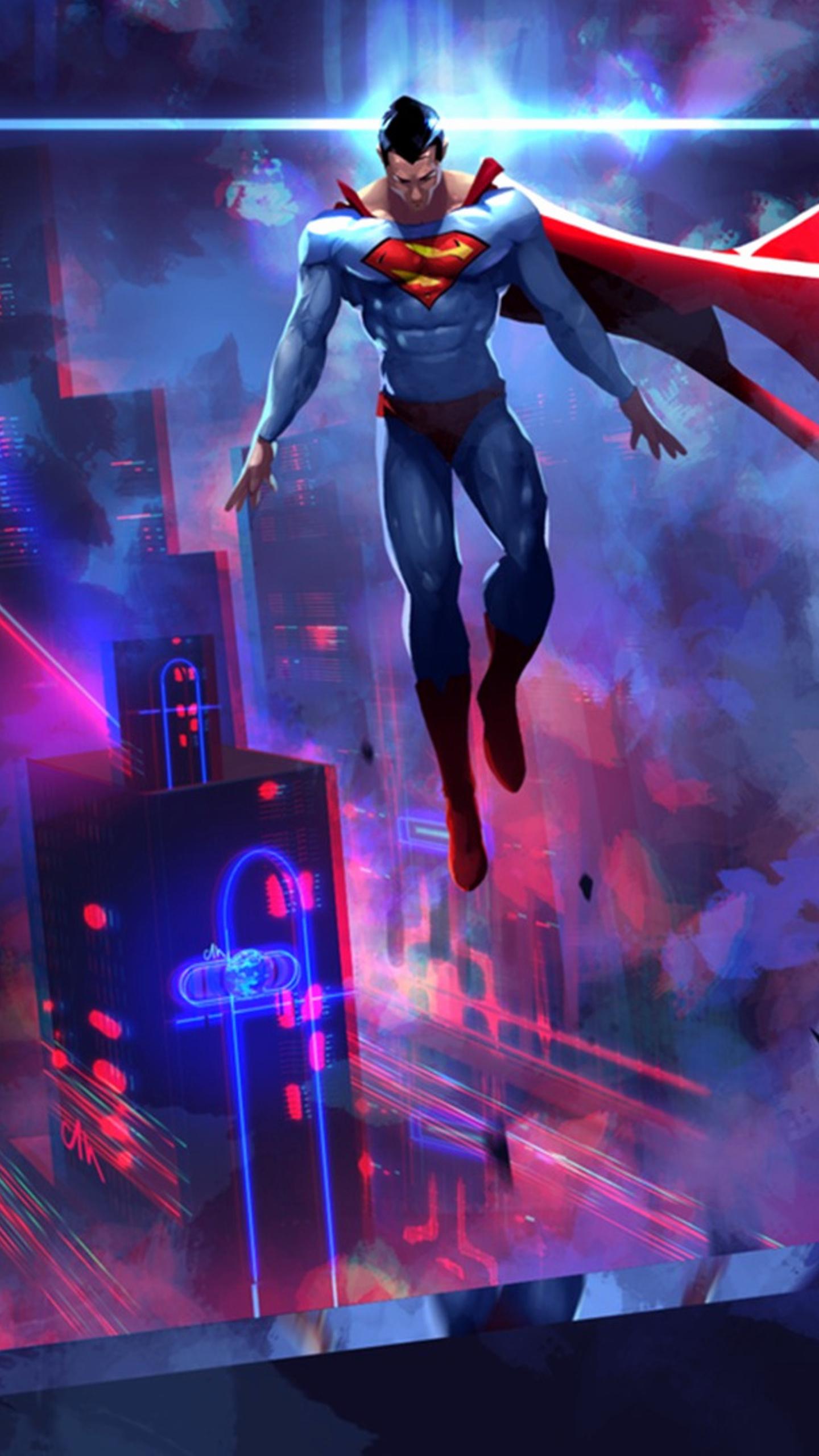 1440x2560 Batman Vs Superman Art Samsung Galaxy S6s7