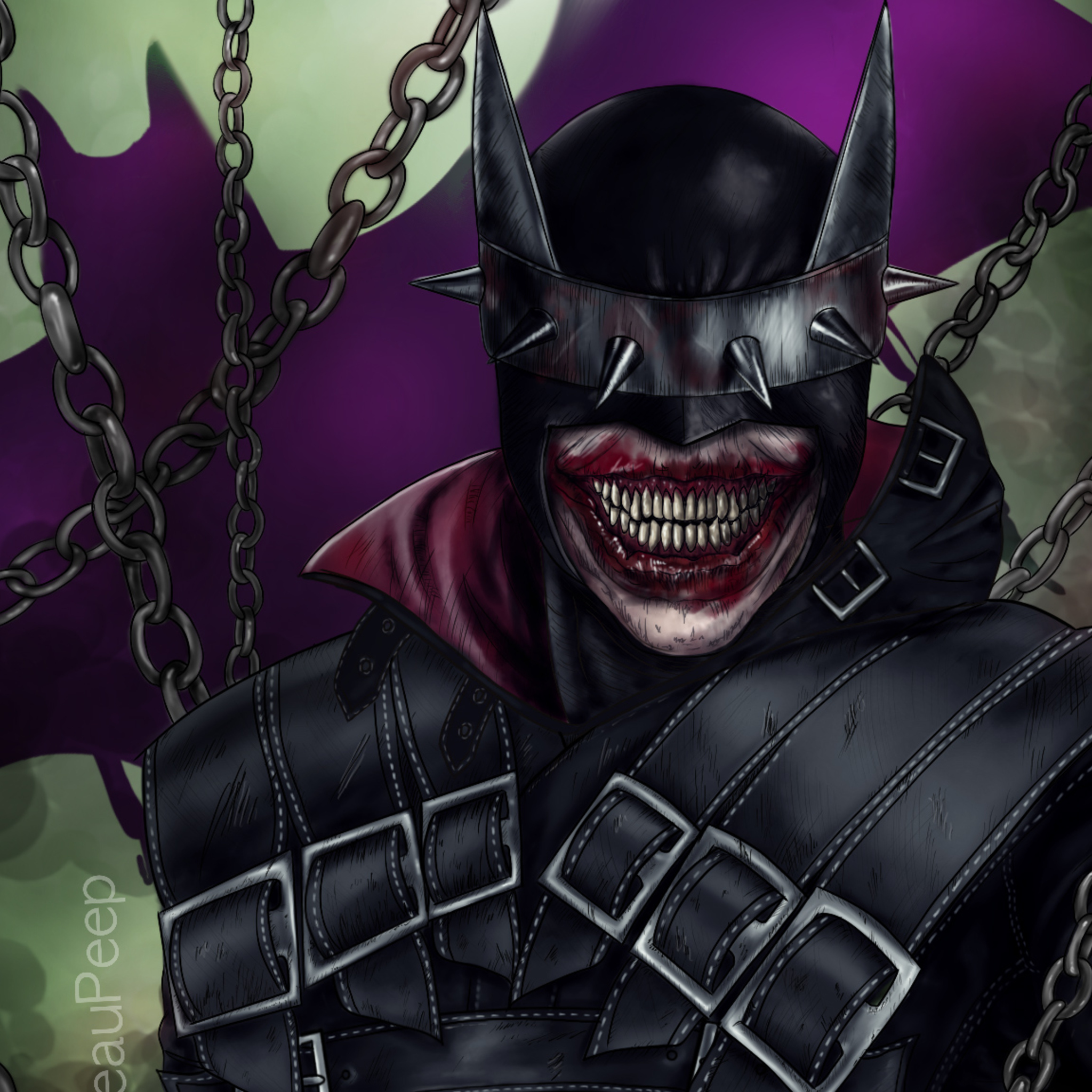 2048x2048 Batman Who Laughs All Day Ipad Air Hd 4k