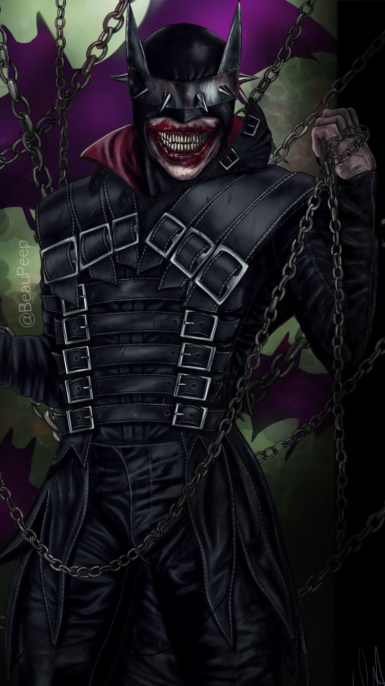 750x1334 Batman Who Laughs All Day Iphone 6 Iphone 6s