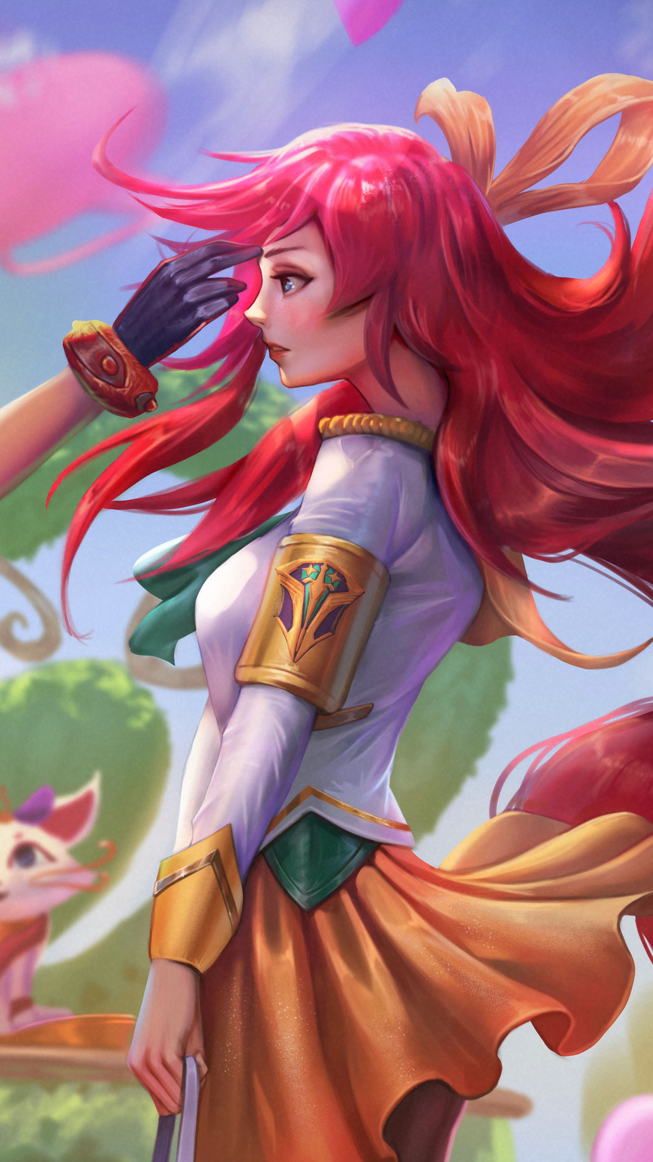 2160x3840 Battle Academy Ezreal And Lux League Of Legends 5k Sony Xperia X Xz Z5 Premium Hd 4k Wallpapers Images Backgrounds Photos And Pictures