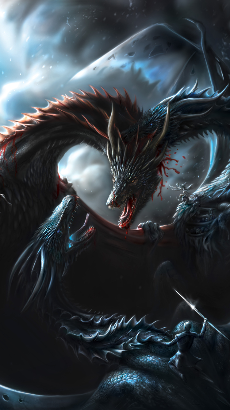750x1334 Battle Of Dragons Game Of Thrones 8k Iphone 6