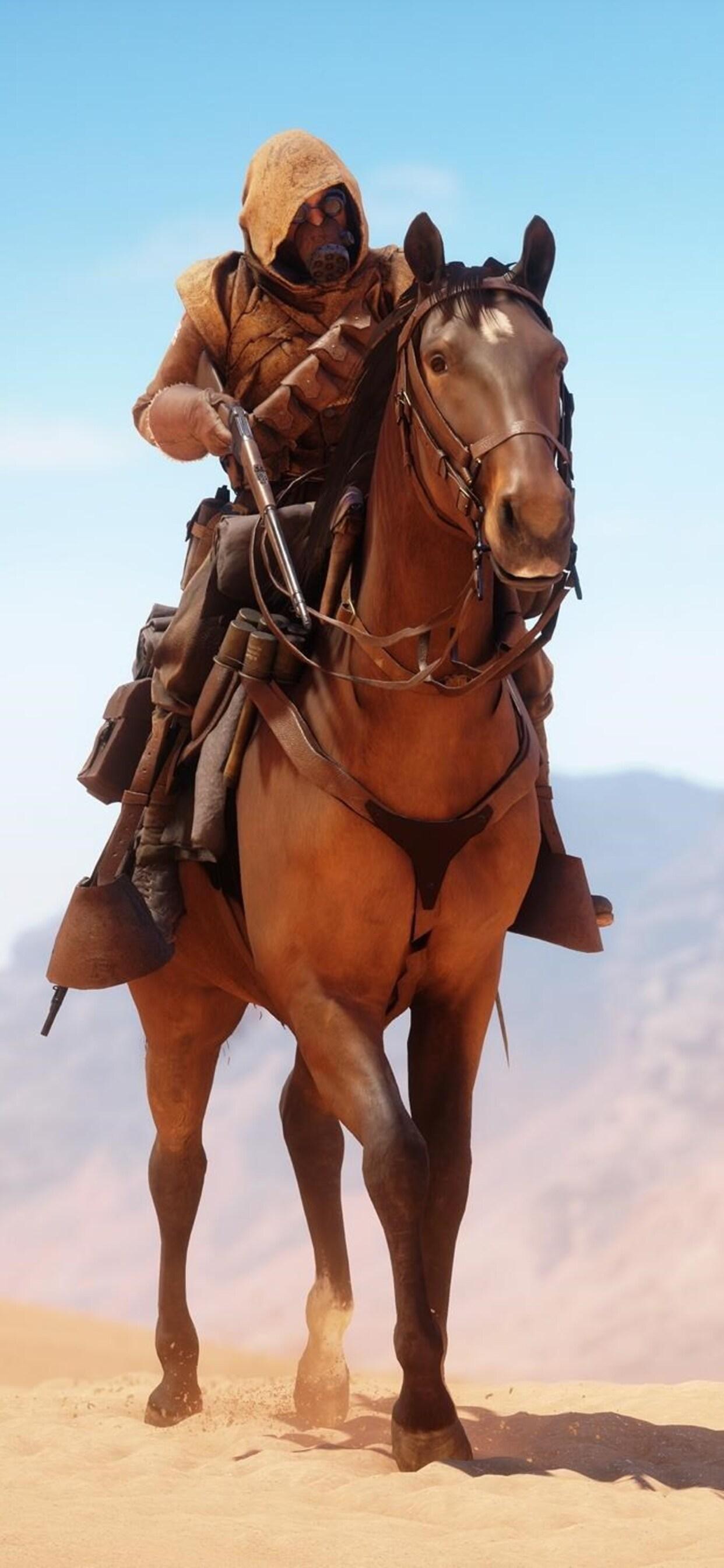 Battlefield 1 Horse Qu