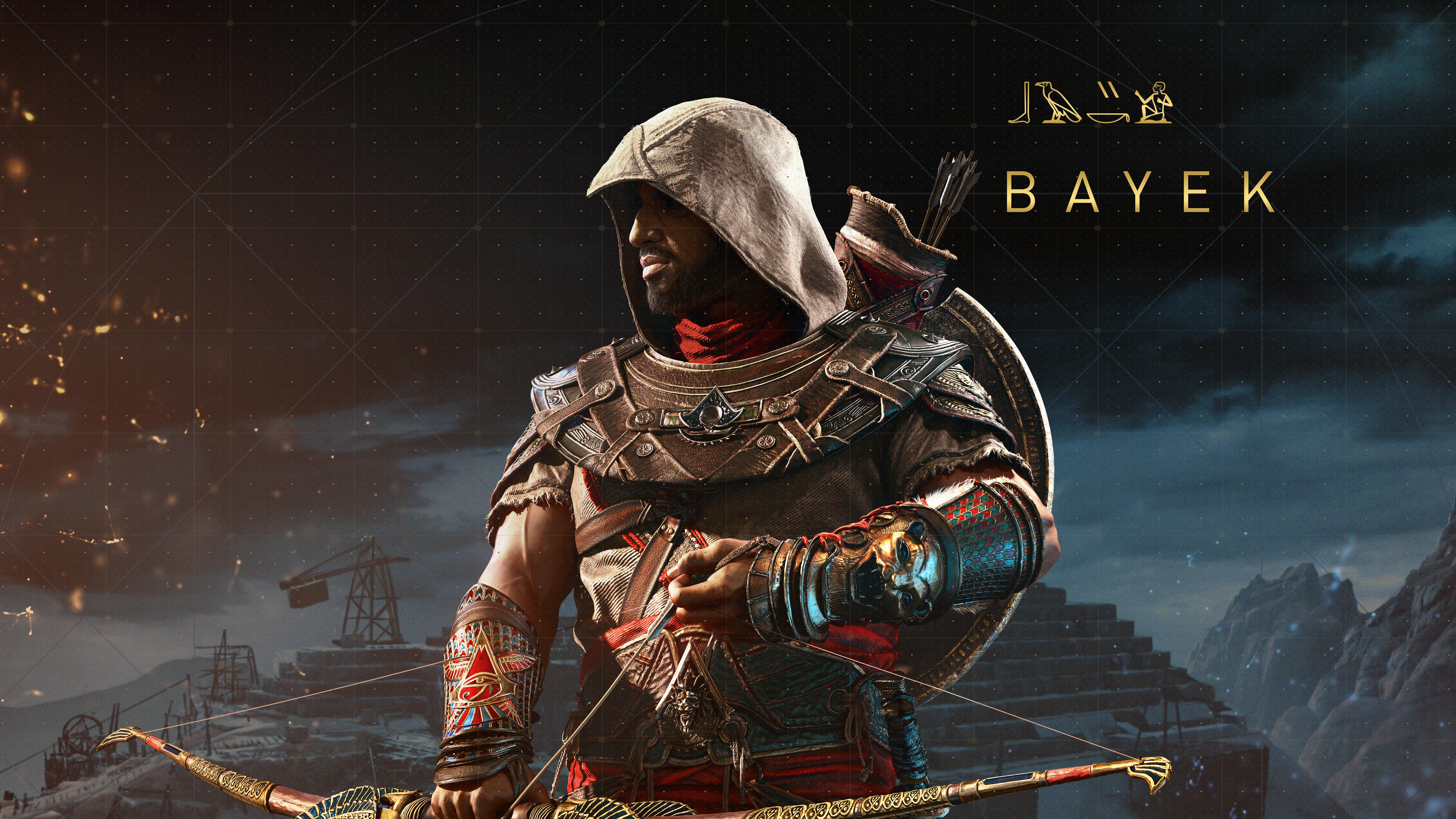 7680x4320 bayek assassins creed origins 8k 8k hd 4k wallpapers