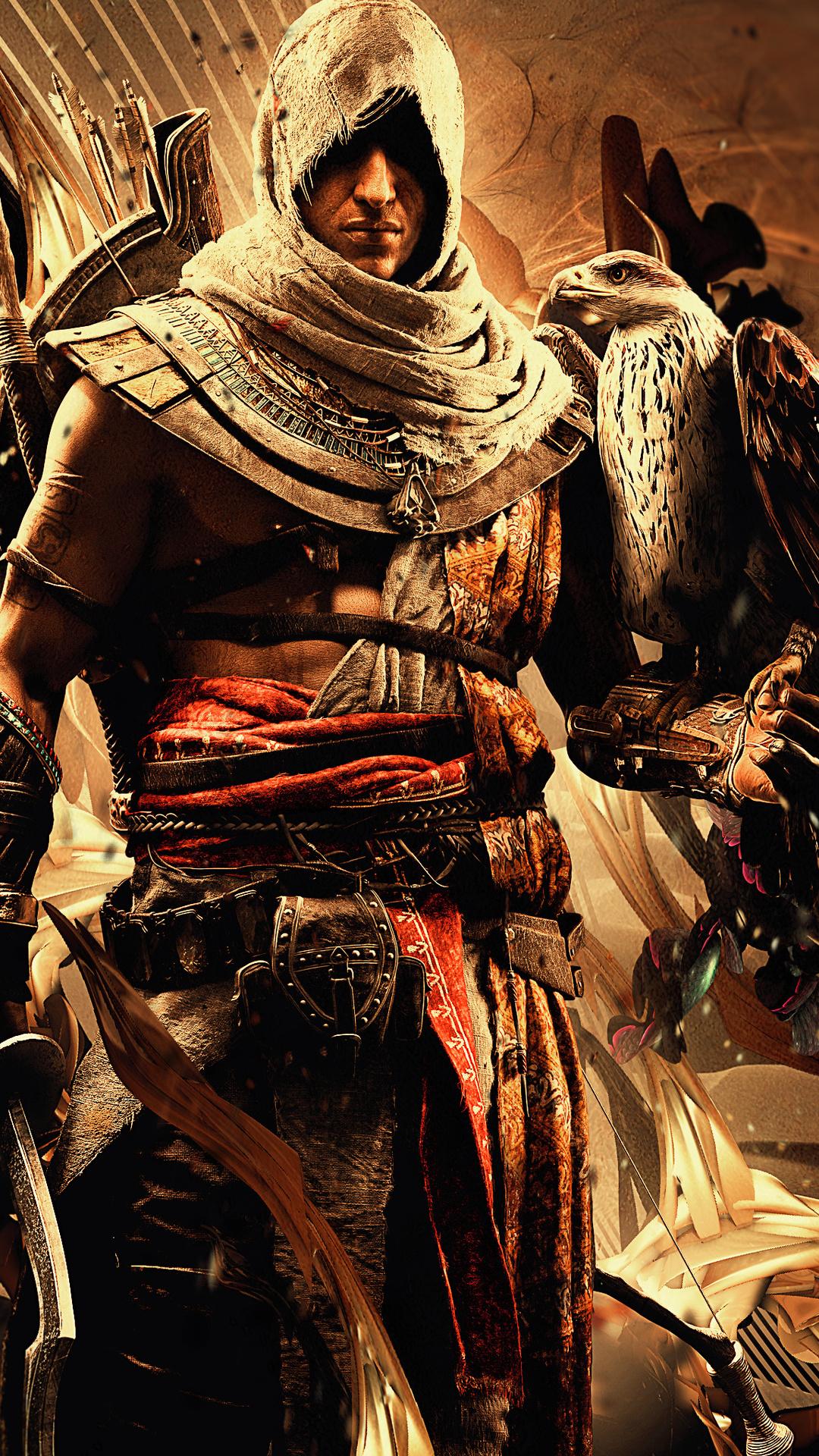 1080x1920 Bayek Of Siwa Assassins Creed Origins 4k Iphone 7 6s 6