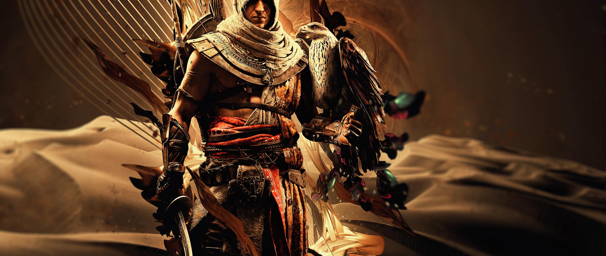 2560x1080 Bayek Of Siwa Assassins Creed Origins 4k