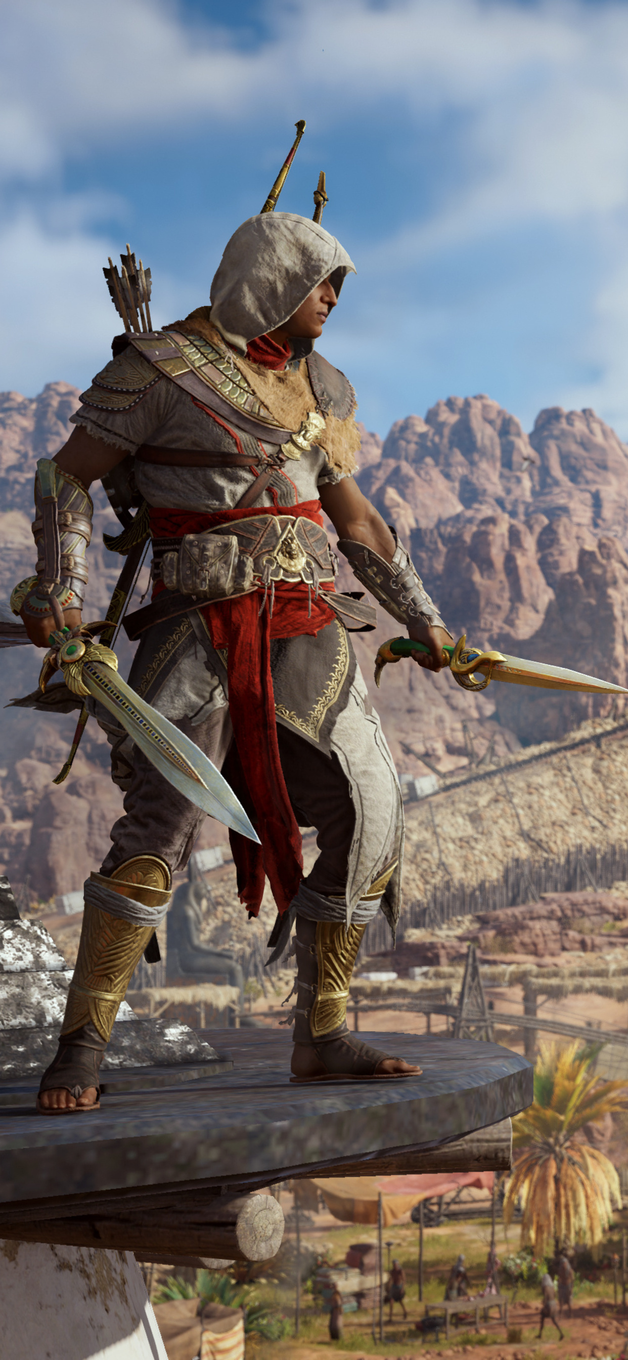 1242x2688 Bayek Of Siwa Assassins Creed Origins Iphone Xs Max Hd
