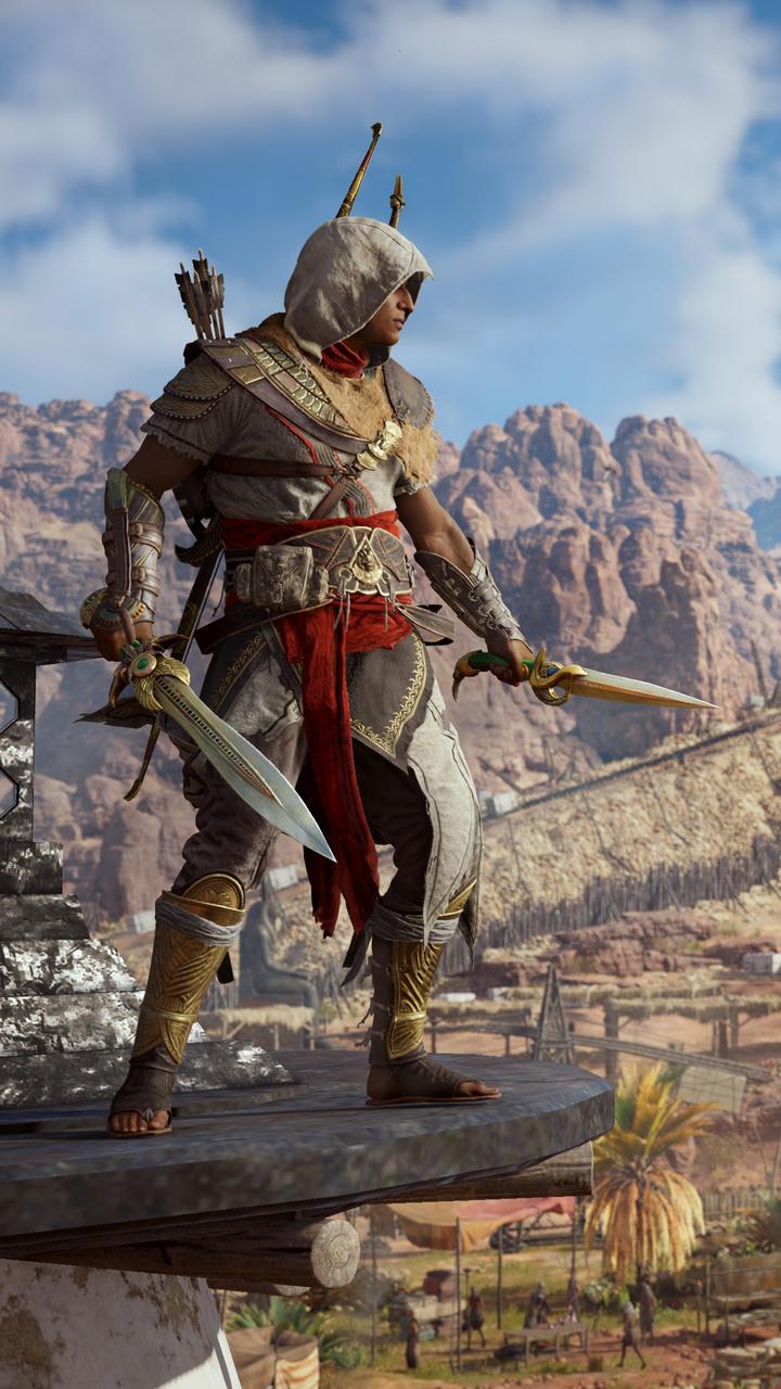 720x1280 Bayek Of Siwa Assassins Creed Origins Moto G,X ...
