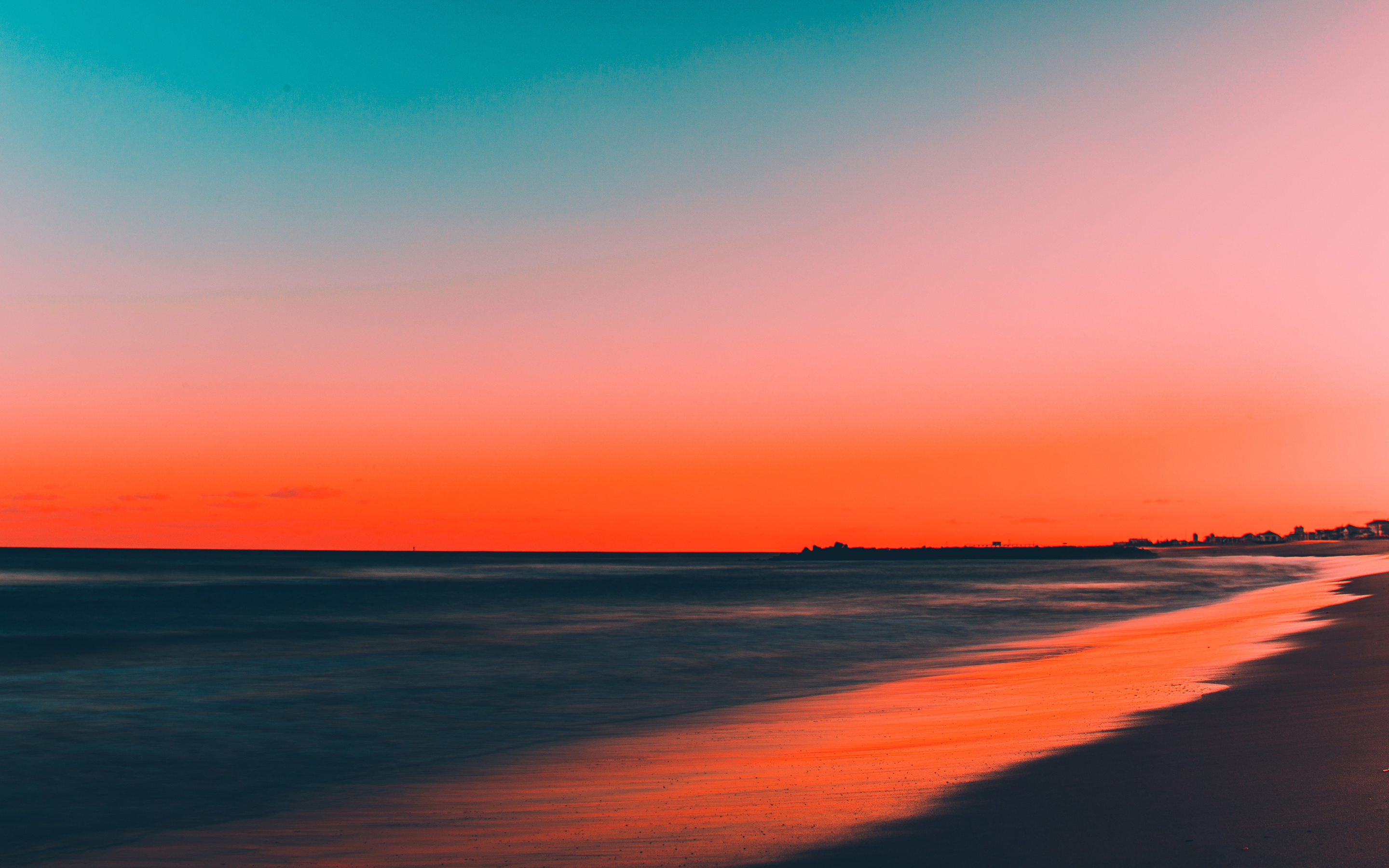 2880x1800 beach sunset 5k macbook pro retina hd 4k wallpapers