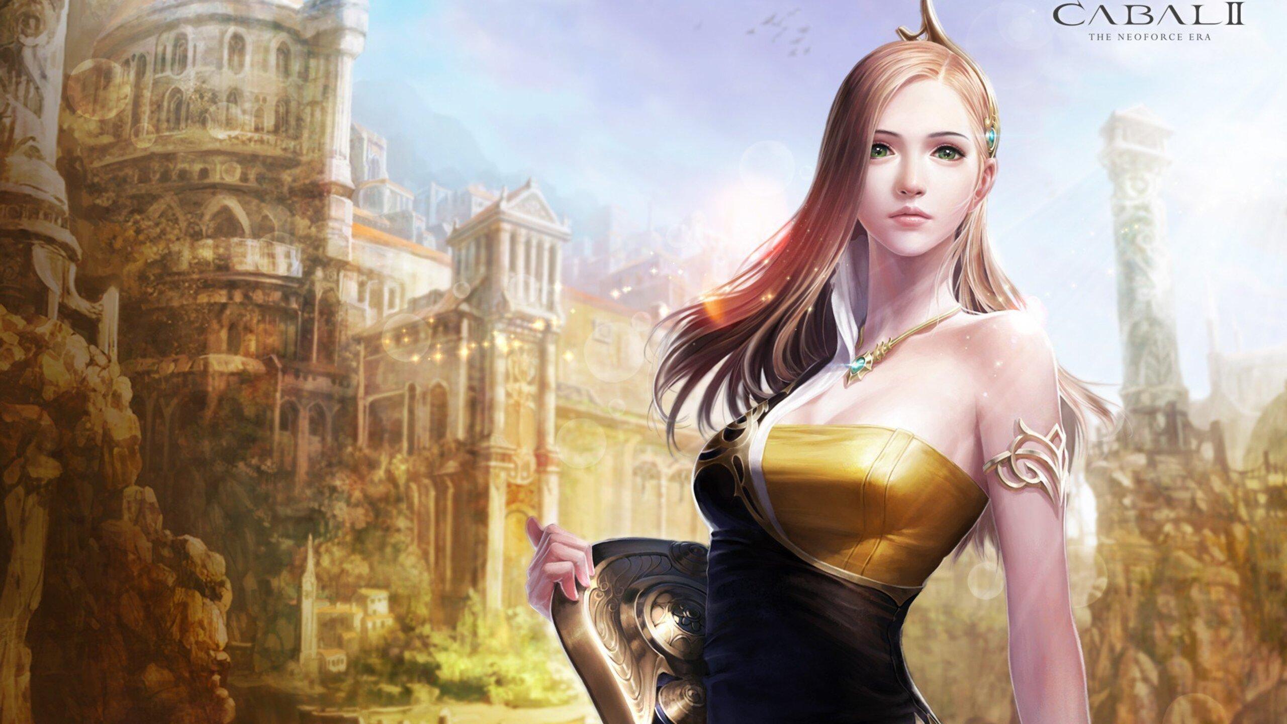 2560x1440 Beautiful Game Girl 1440P Resolution HD 4k ...
