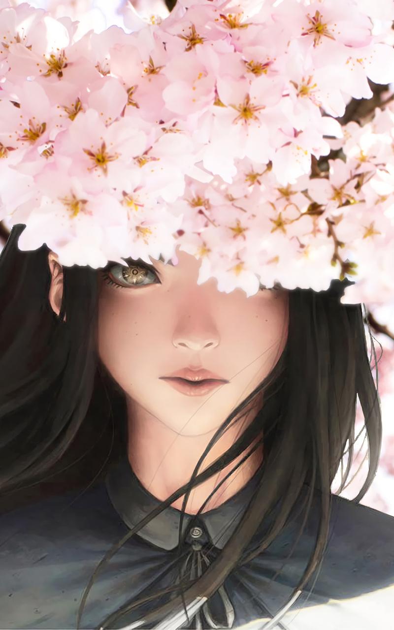 beautiful girl anime xk