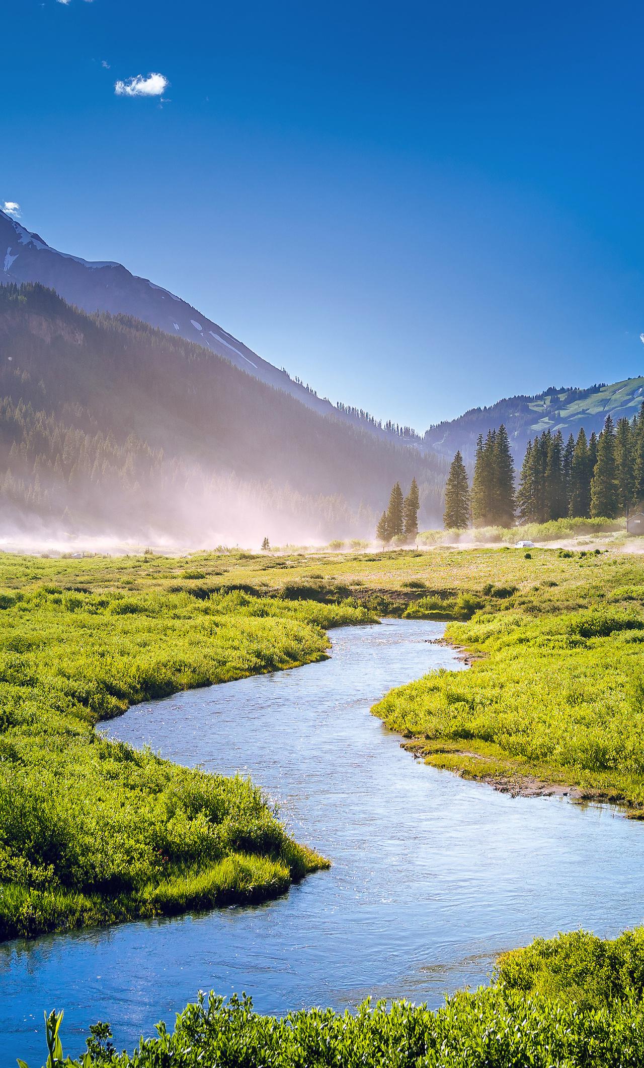 1280x2120 Beautiful Greenery Landscape Iphone 6 Hd 4k