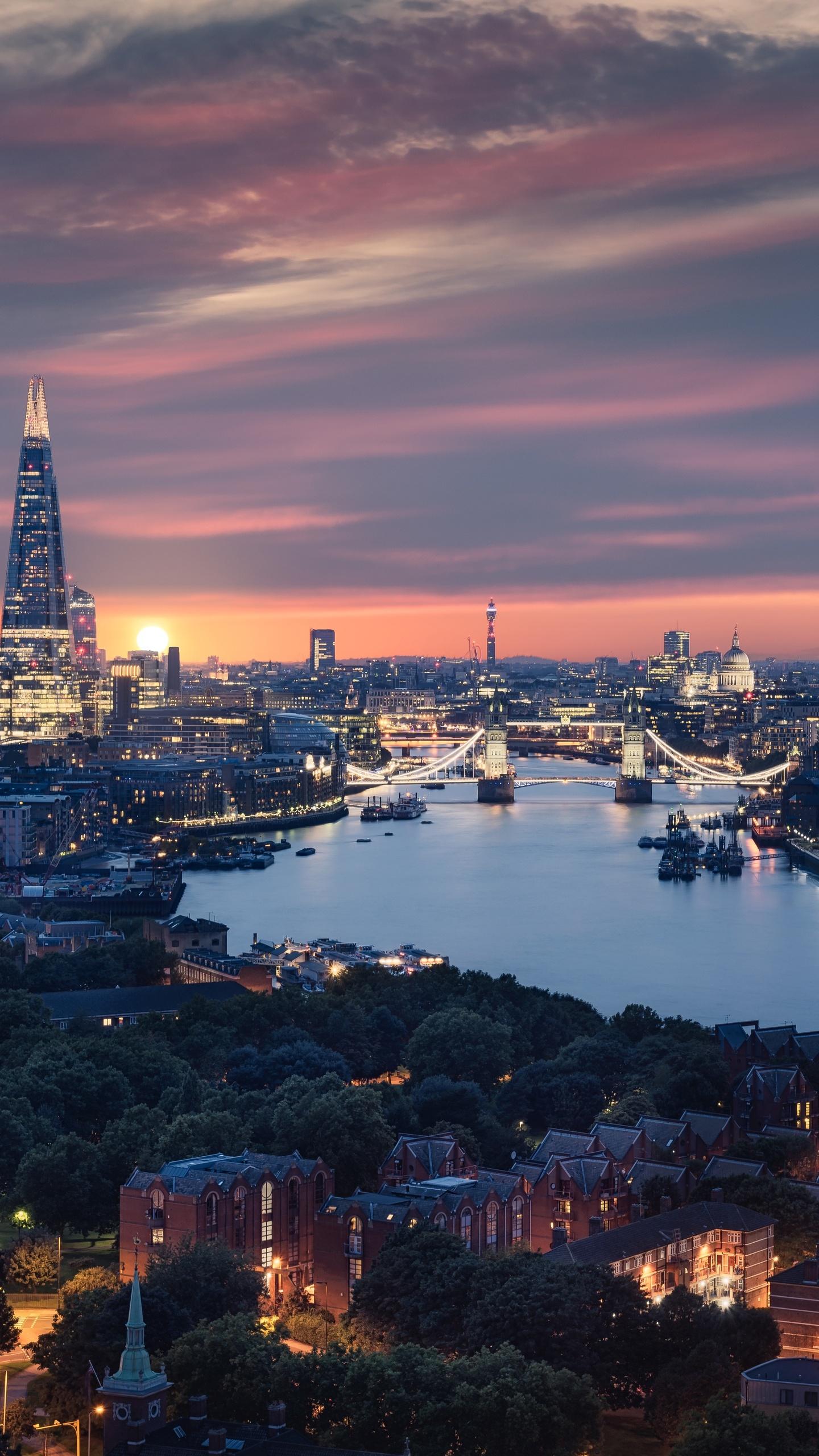1440x2560 Beautiful London City View 8k Samsung Galaxy S6 ...