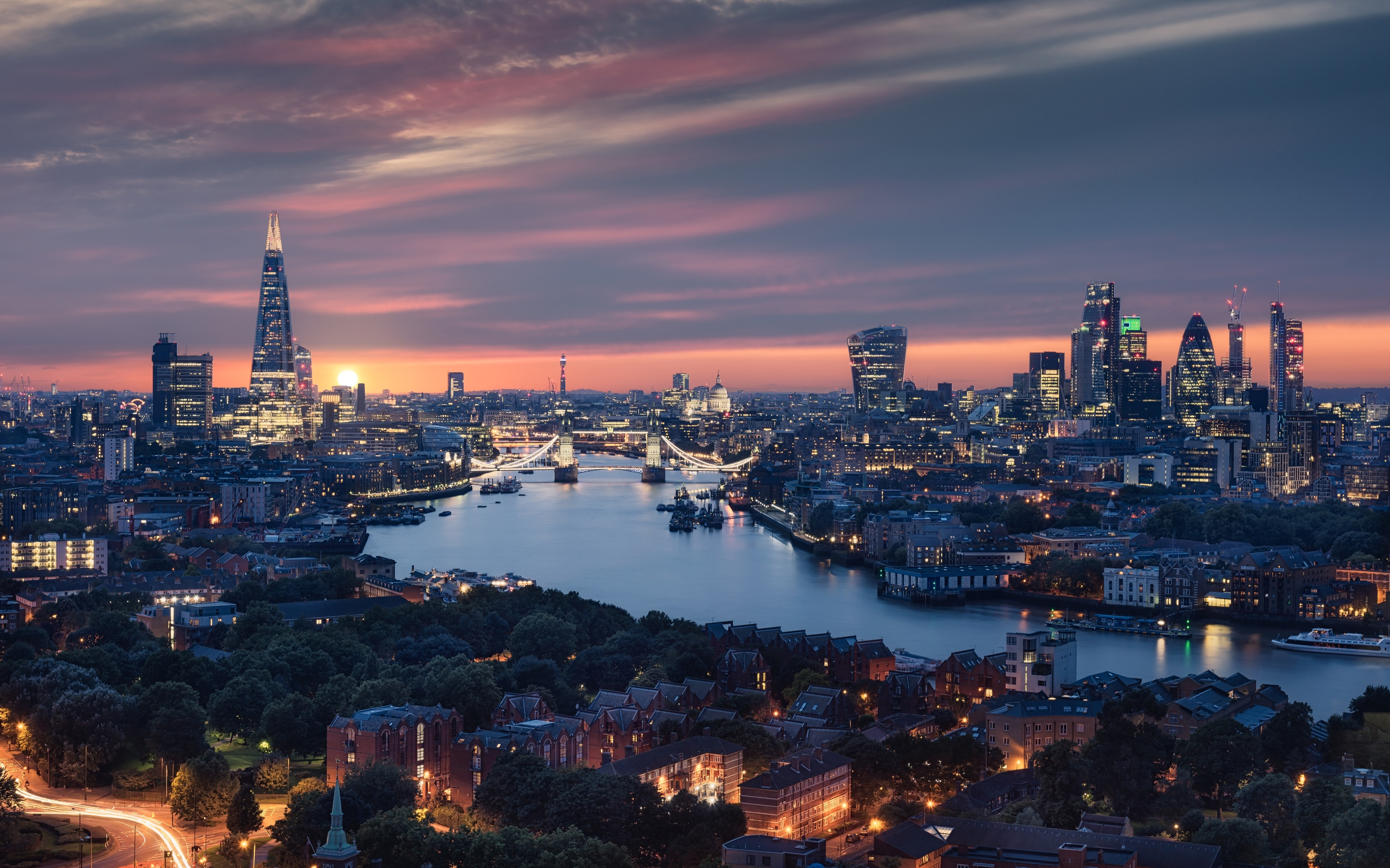 2880x1800 Beautiful London City View 8k Macbook Pro Retina HD 4k Wallpapers,  Images, Backgrounds, Photos and Pictures