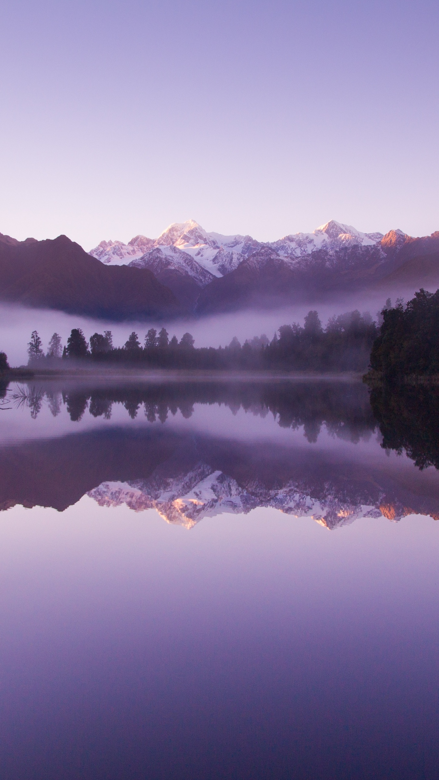 1440x2560 Beautiful Purple Weather Landscape Of Lake Matheson Samsung Galaxy S6 S7 Google Pixel Xl Nexus 6 6p Lg G5 Hd 4k Wallpapers Images Backgrounds Photos And Pictures