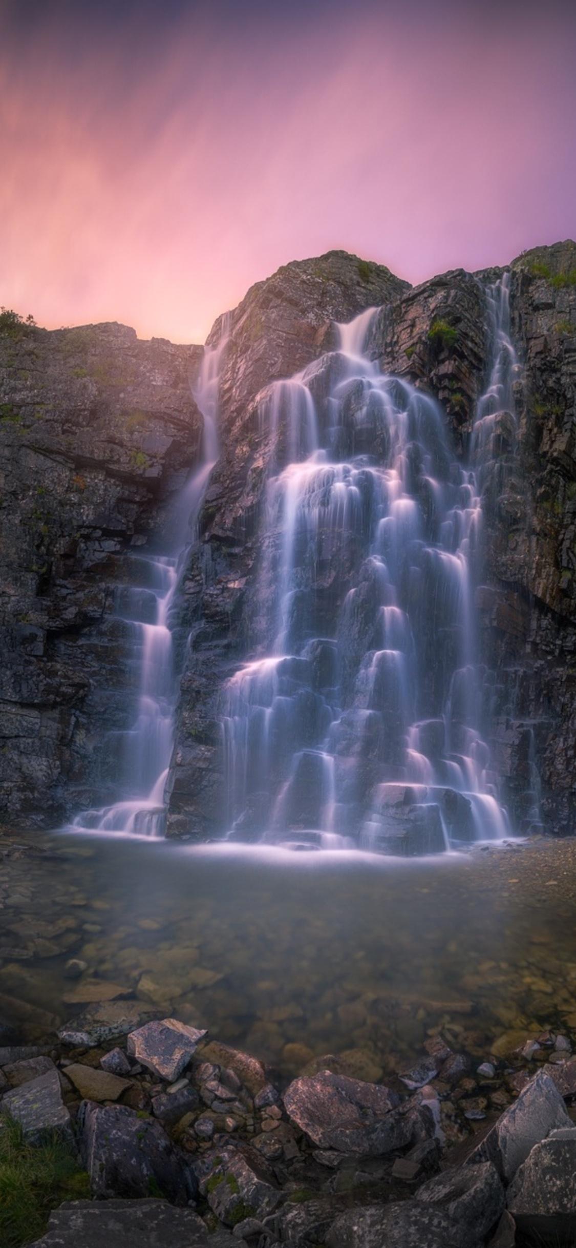 1125x2436 Beautiful Waterfall Iphone Xs Iphone 10 Iphone X Hd 4k