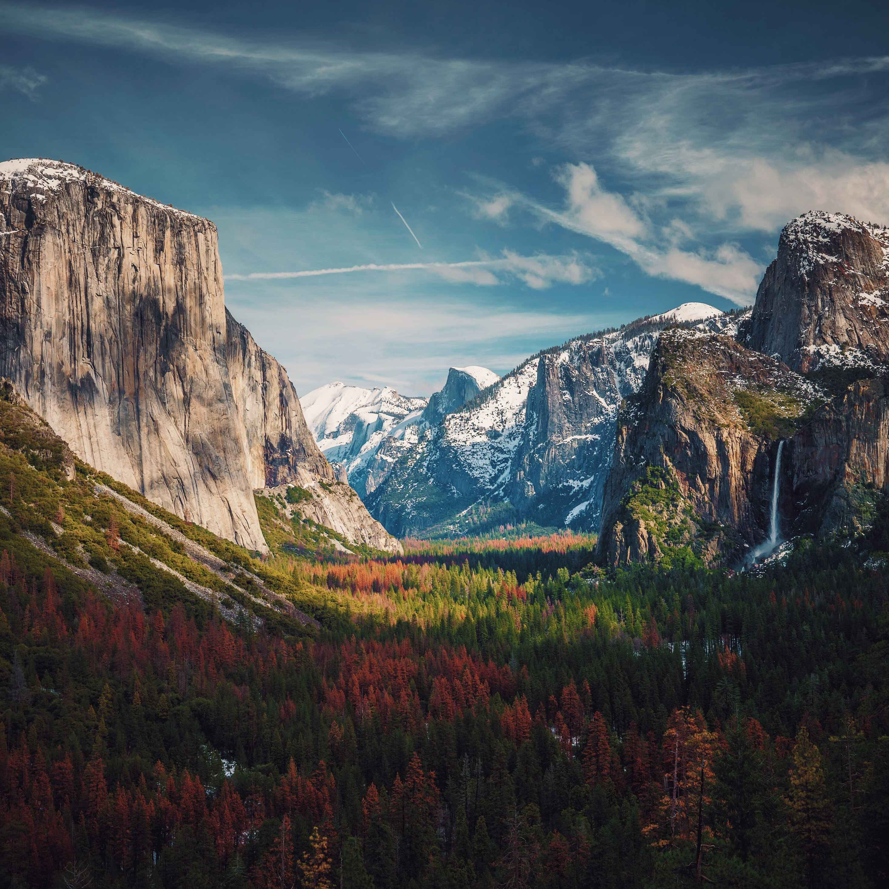 2932x2932 Beautiful Yosemite 8k Ipad Pro Retina Display Hd 4k Wallpapers Images Backgrounds Photos And Pictures