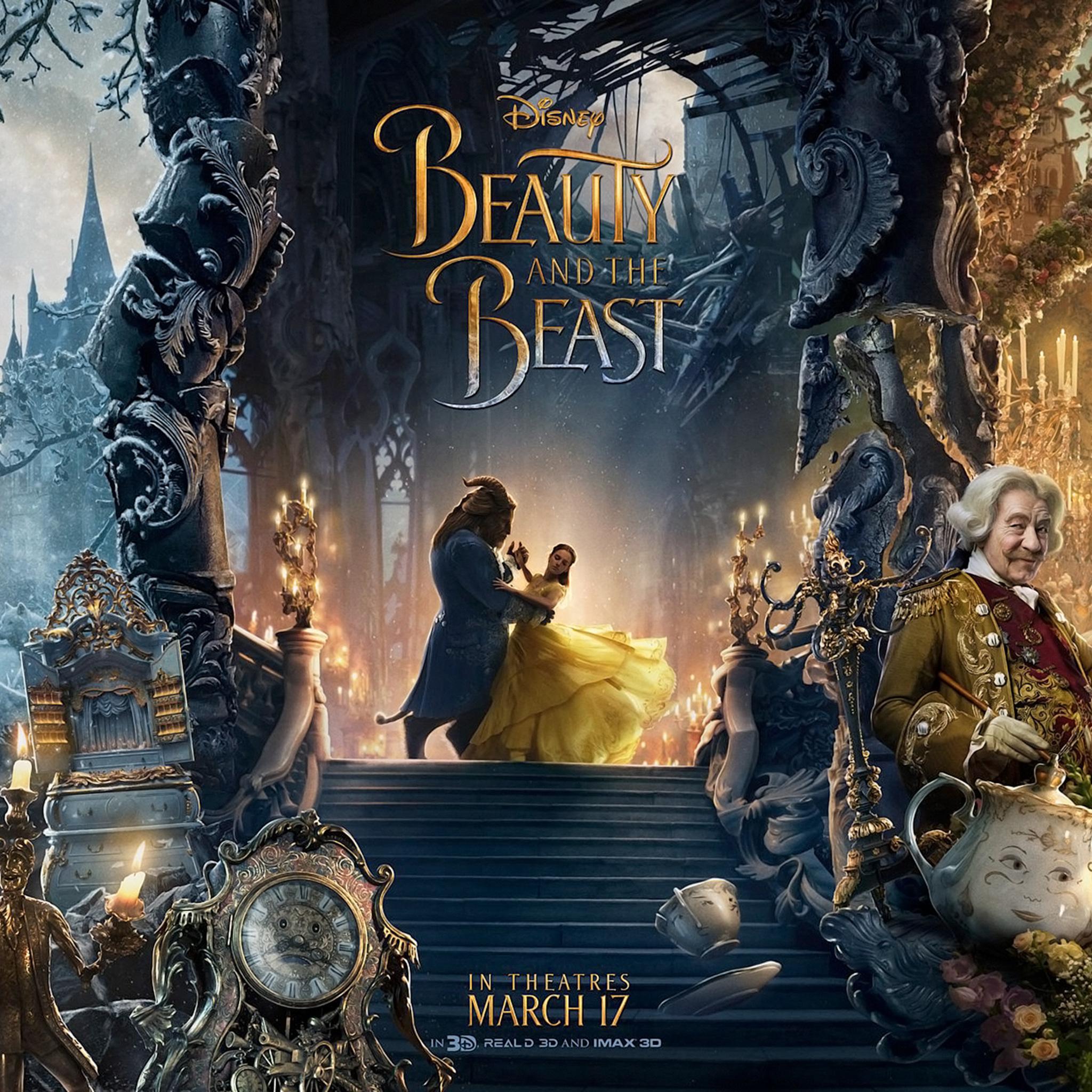 2048x2048 Beauty And The Beast 4k Ipad Air HD 4k