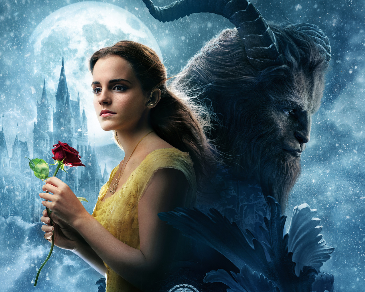 Download Beauty And Beast: 1280x1024 Beauty And The Beast Movie 1280x1024 Resolution