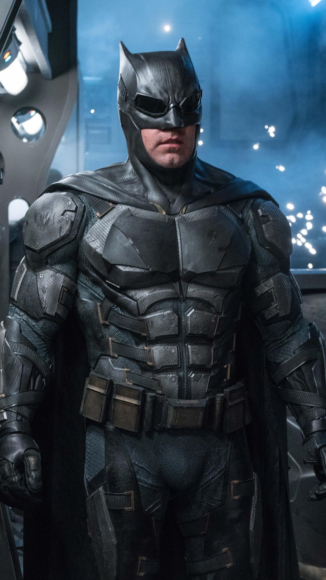 1080x1920 ben affleck as batman in justice league 8k - Ben affleck batman wallpaper ...