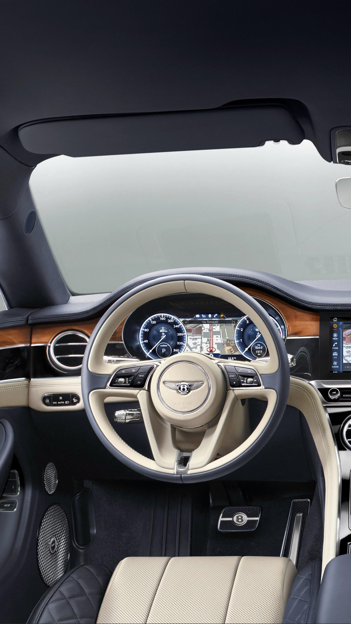 1440x2560 Bentley Continental Gt 2017 Interior Samsung Galaxy S6 S7 Google Pixel Xl Nexus 6 6p