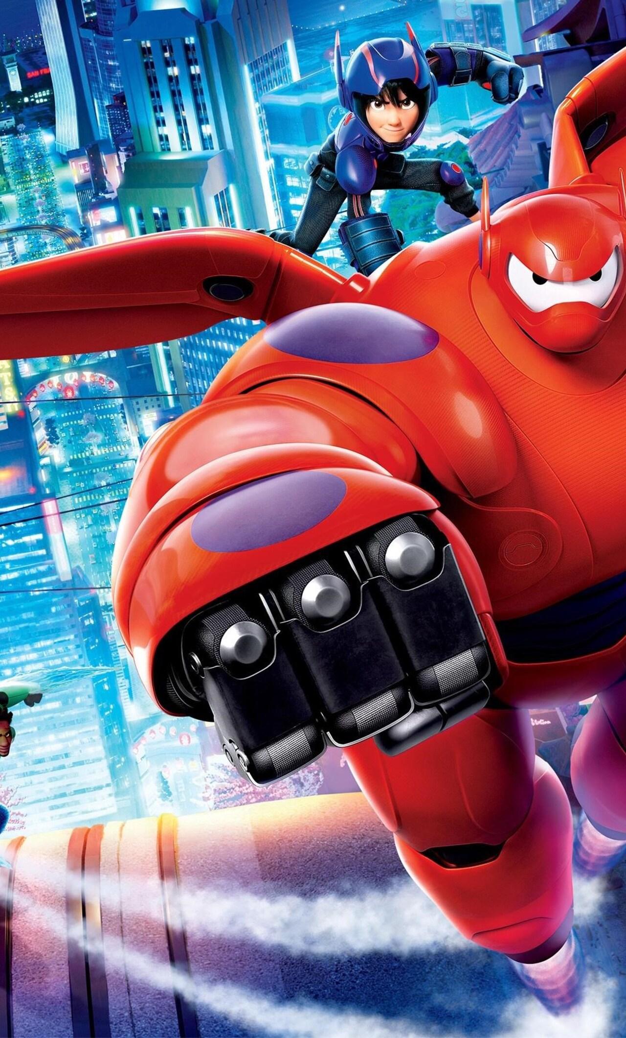 1280x2120 Big Hero 6 Movie Hd Iphone 6 Hd 4k Wallpapers Images