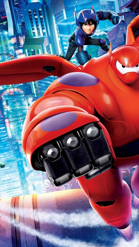 big hero 6 android wallpaper: 480x854 Big Hero 6 Movie HD Android One HD 4k Wallpapers