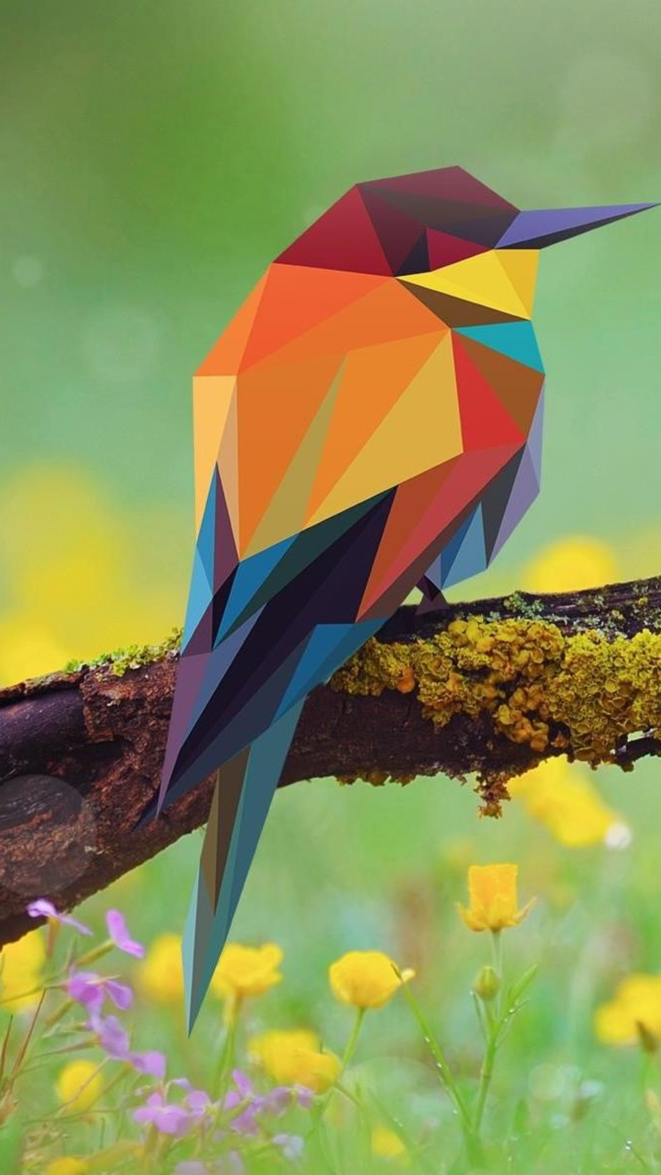 2160x3840 bird abstract art sony xperia x xz z5 premium hd - Art wallpaper 2160x3840 ...