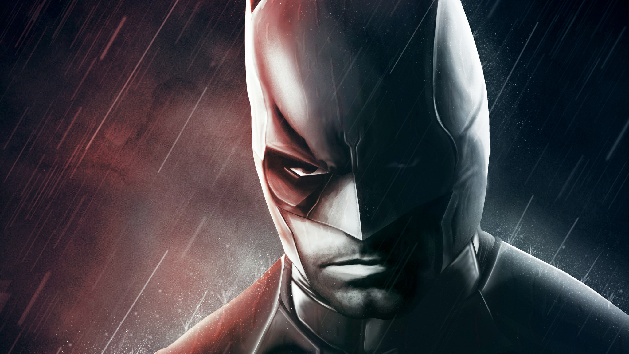2048x1152 Black And White Batman 2048x1152 Resolution Hd 4k