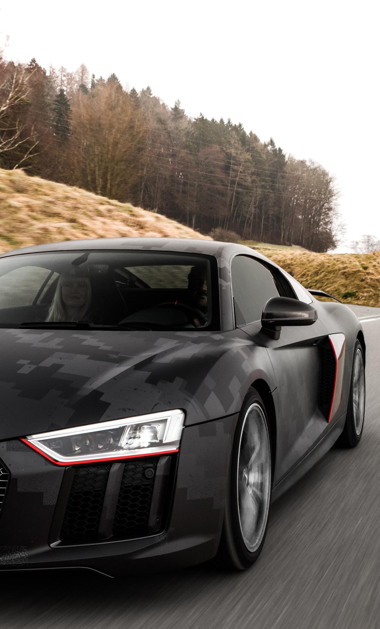1280x2120 Black Audi R8 V10 Plus Iphone 6 Hd 4k Wallpapers