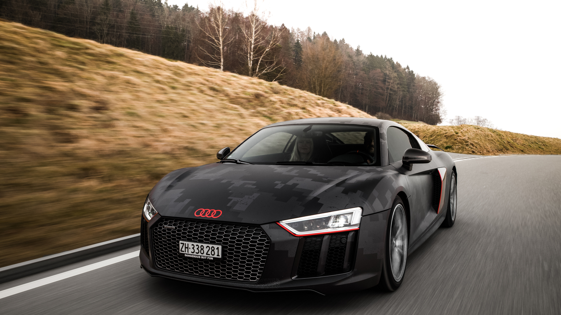 1920x1080 Black Audi R8 V10 Plus Laptop Full Hd 1080p Hd