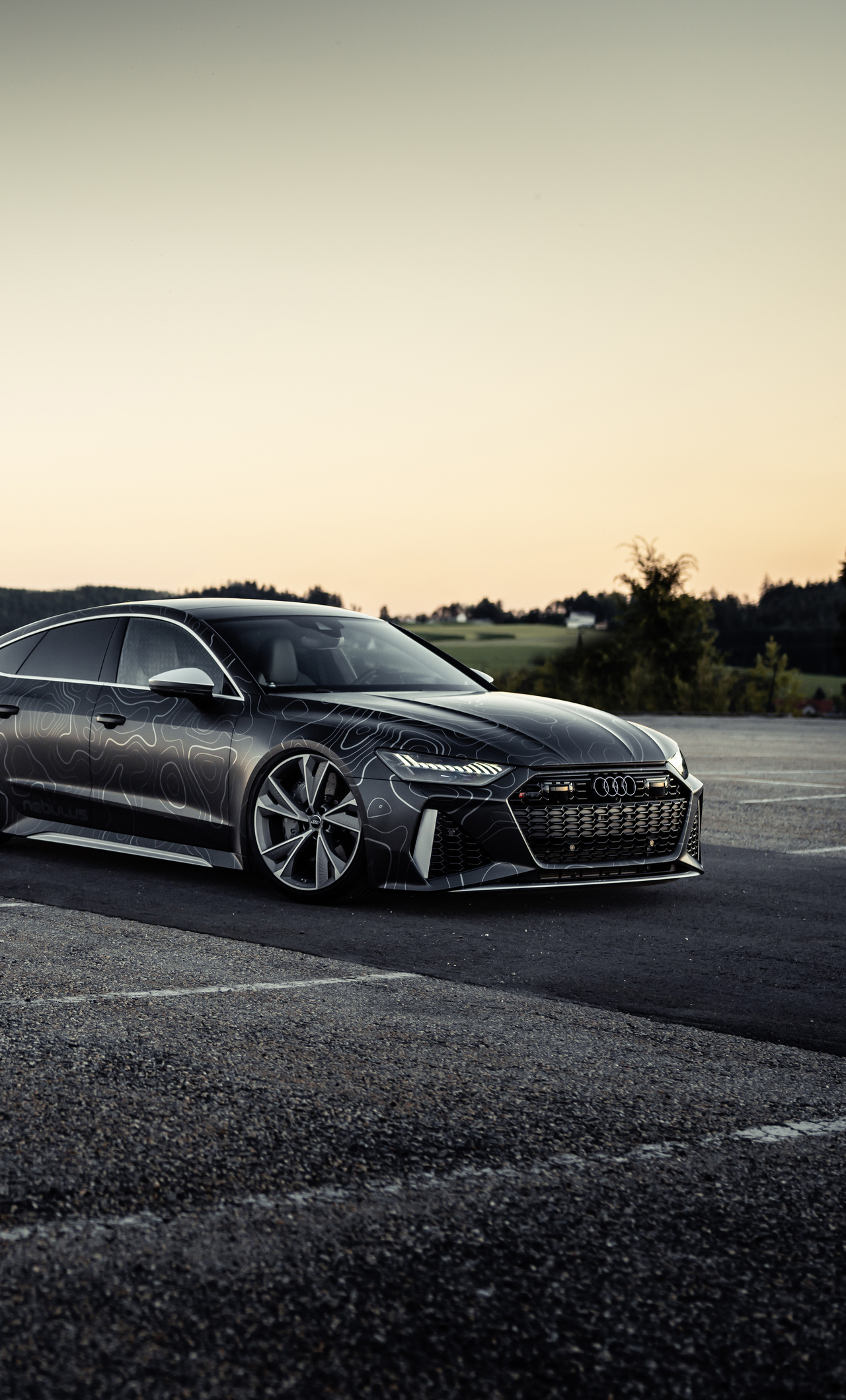 1280x2120 Black Box Richter Audi Rs 7 Sportback 2020 Iphone 6 Hd 4k Wallpapers Images Backgrounds Photos And Pictures