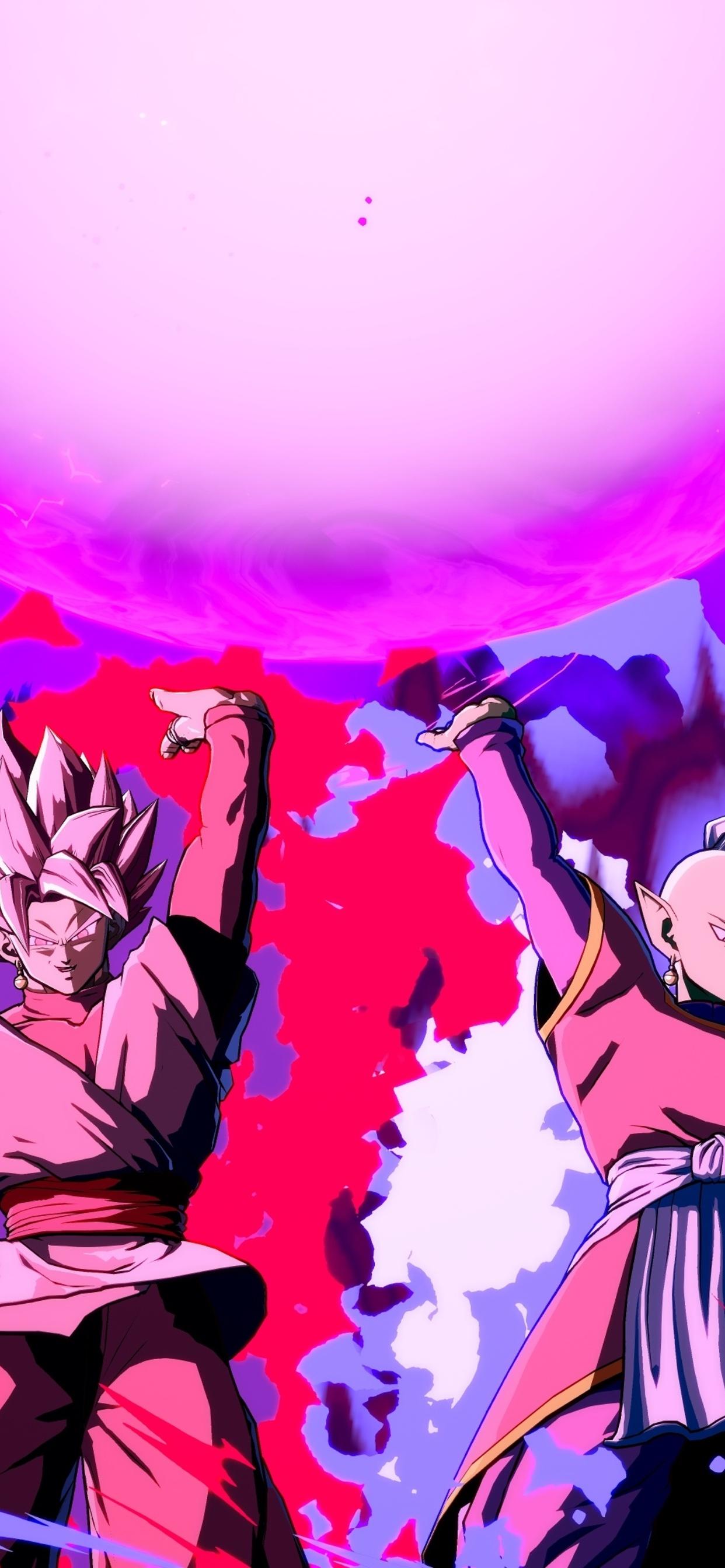 1242x2688 Black Goku Dragon Ball Fighterz Iphone Xs Max Hd 4k