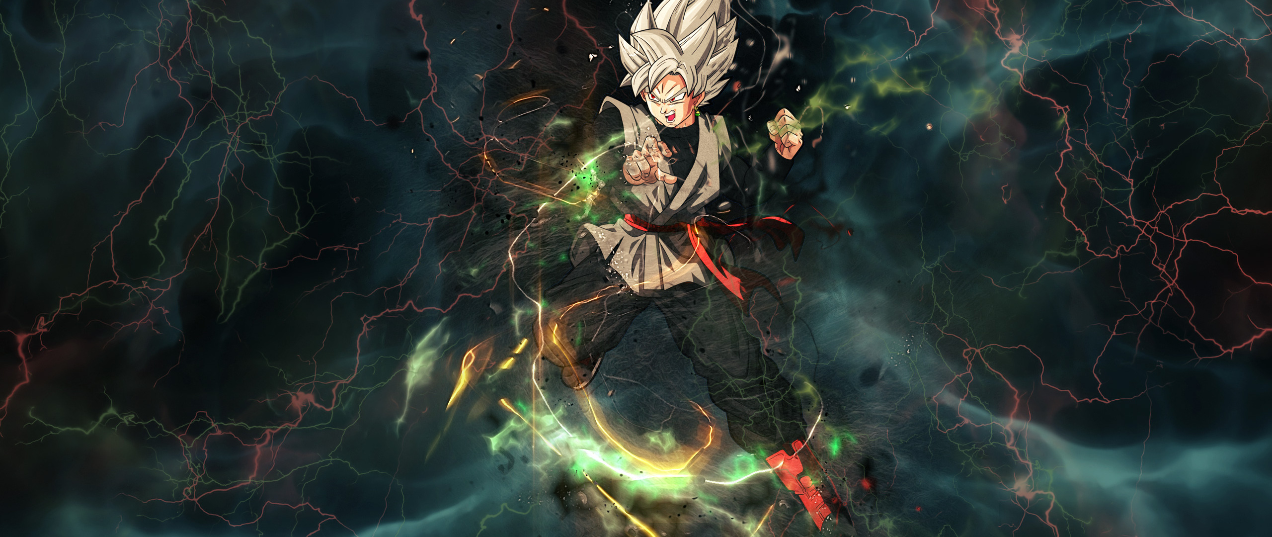 2560x1080 Black Goku Dragon Ball Super Anime Resolution HD 4k Wallpapers Images Backgrounds Photos And Pictures