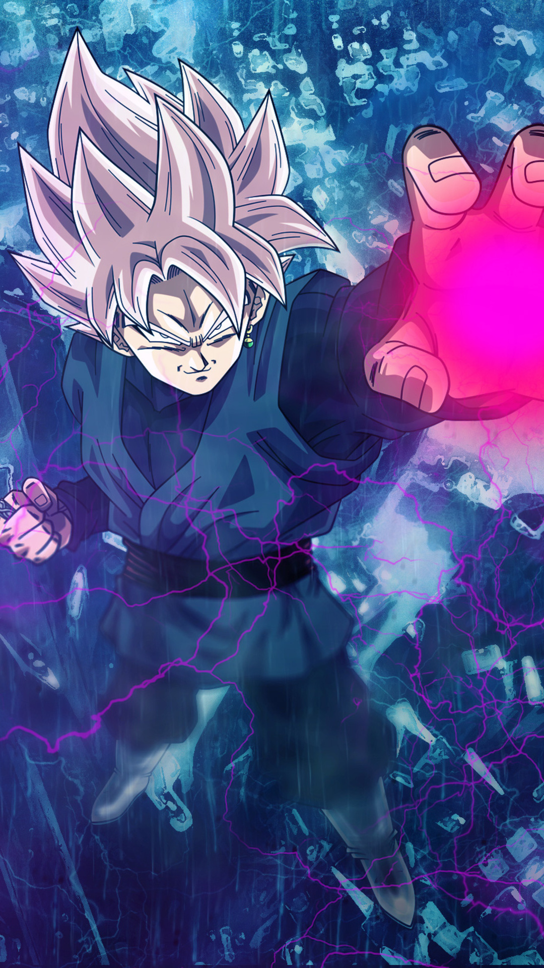 1080x1920 Black Goku Iphone 7,6s,6 Plus, Pixel xl ,One ...